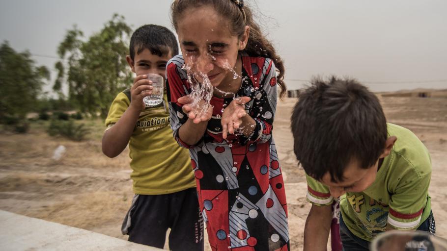 Irak wiederaufbau von infrastruktur und lebensgrundlagen for Oxfam spenden