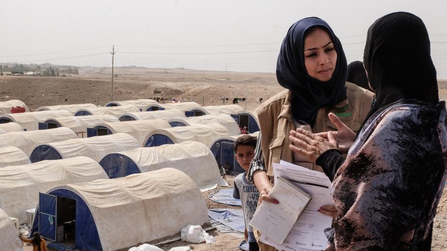 Offensive auf mossul oxfam intensiviert nothilfe im irak for Oxfam spenden