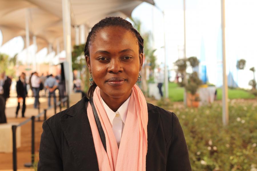 Ein Portrait von Chinma George