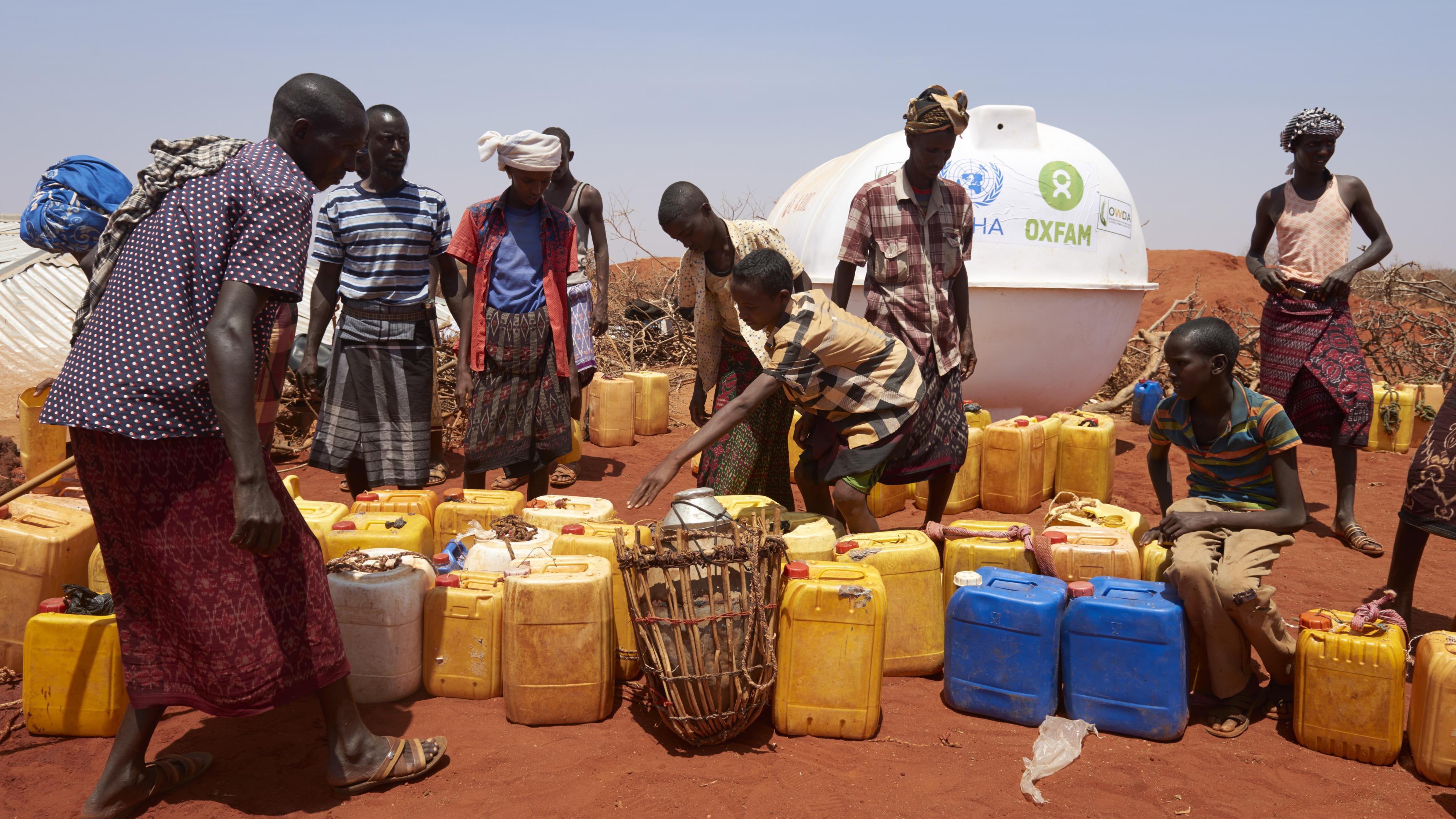 Dürre in Ostafrika: Wasserversorung in Äthiopien