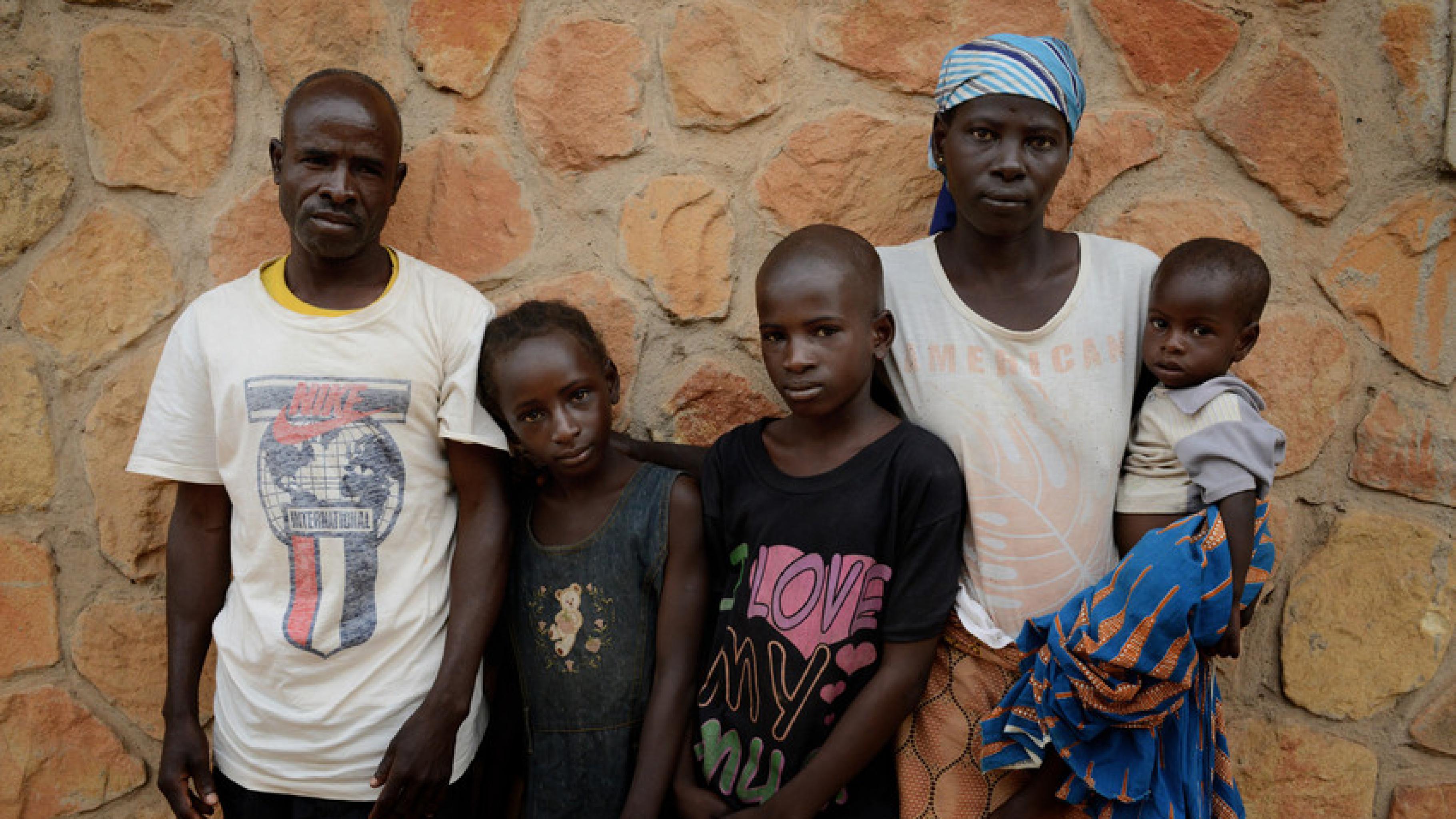 Nigeria: Samuel Samson schaut in die Kamera