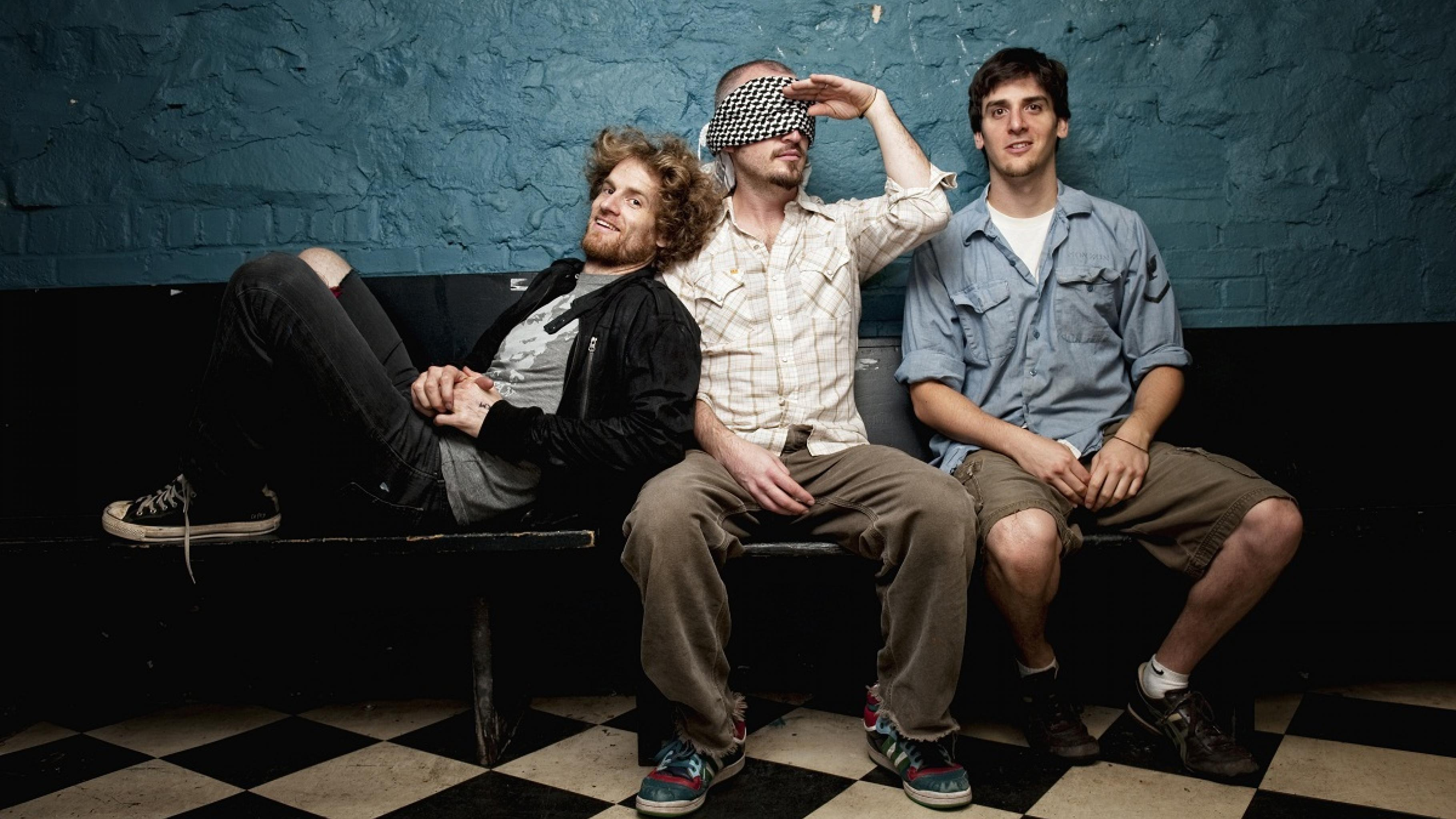 "Die Band ""State Radio"" aus Boston (USA)"