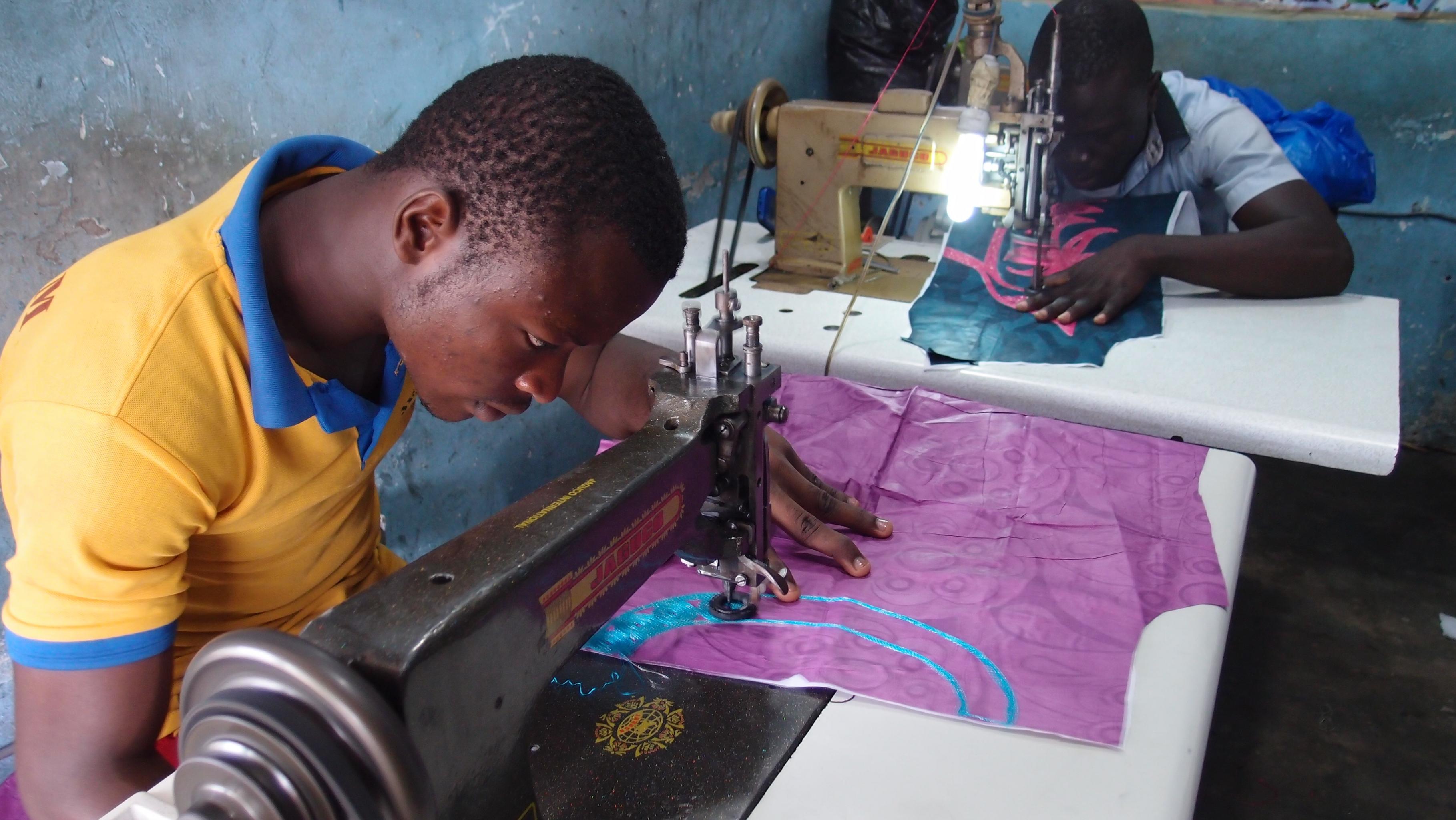 Schneider/innen in Benin
