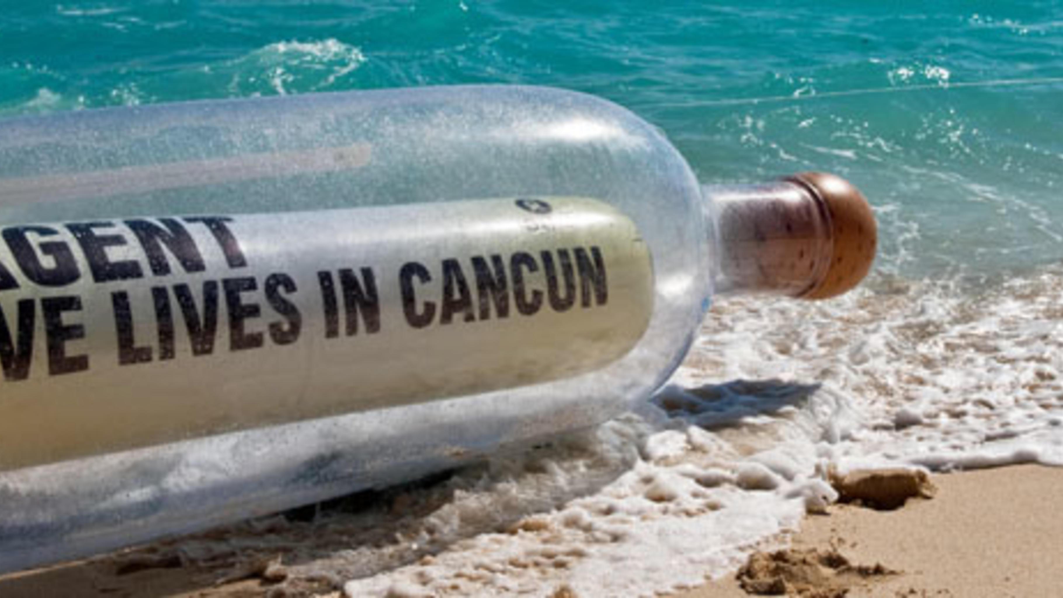 Nachricht offenbar angekommen: Oxfam-Aktion beim UN-Klimagipfel in Cancún 2010.