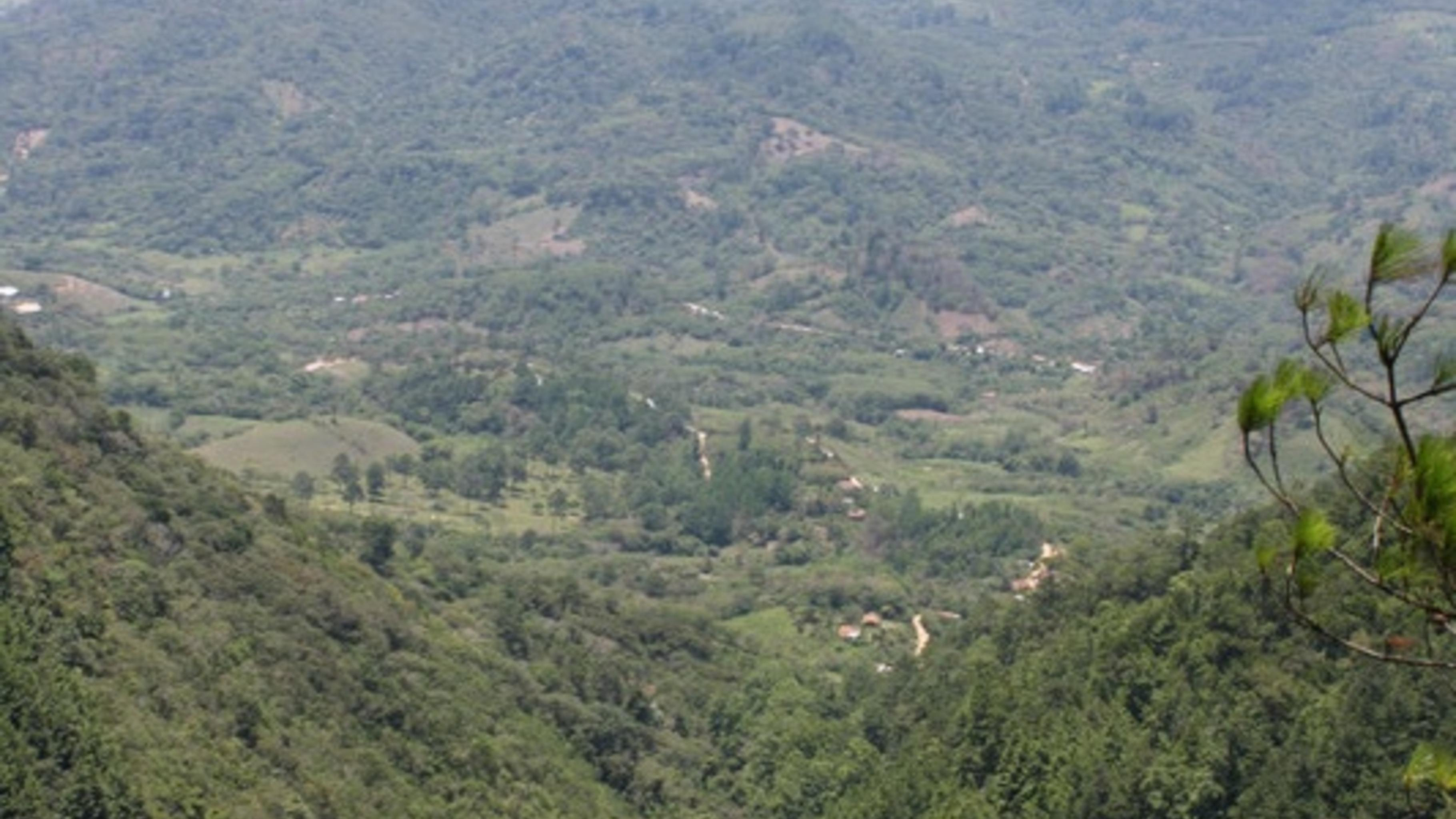 Der Ocotepeque-Distrikt in Honduas