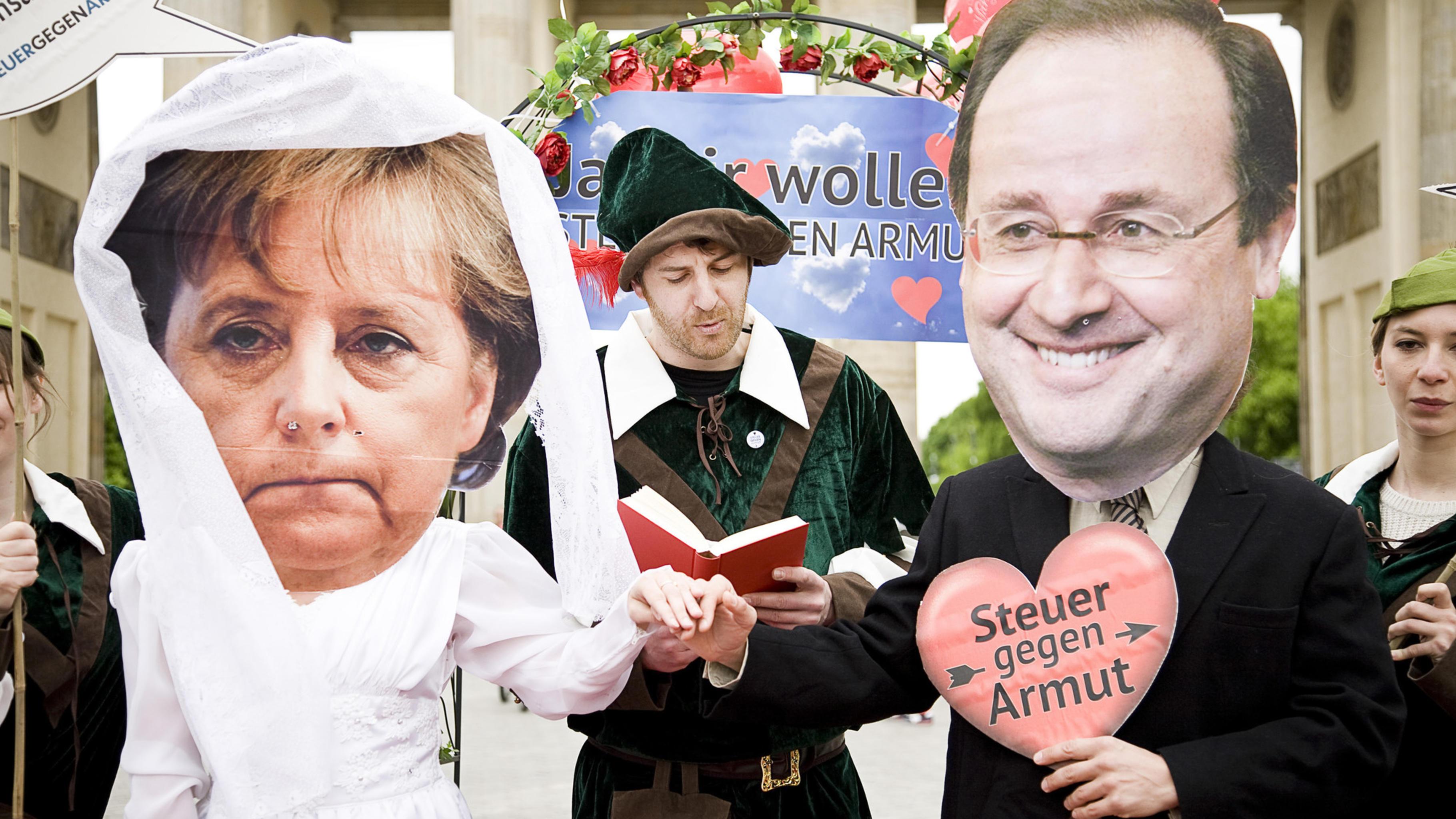 Deutsch Französische Traumhochzeit