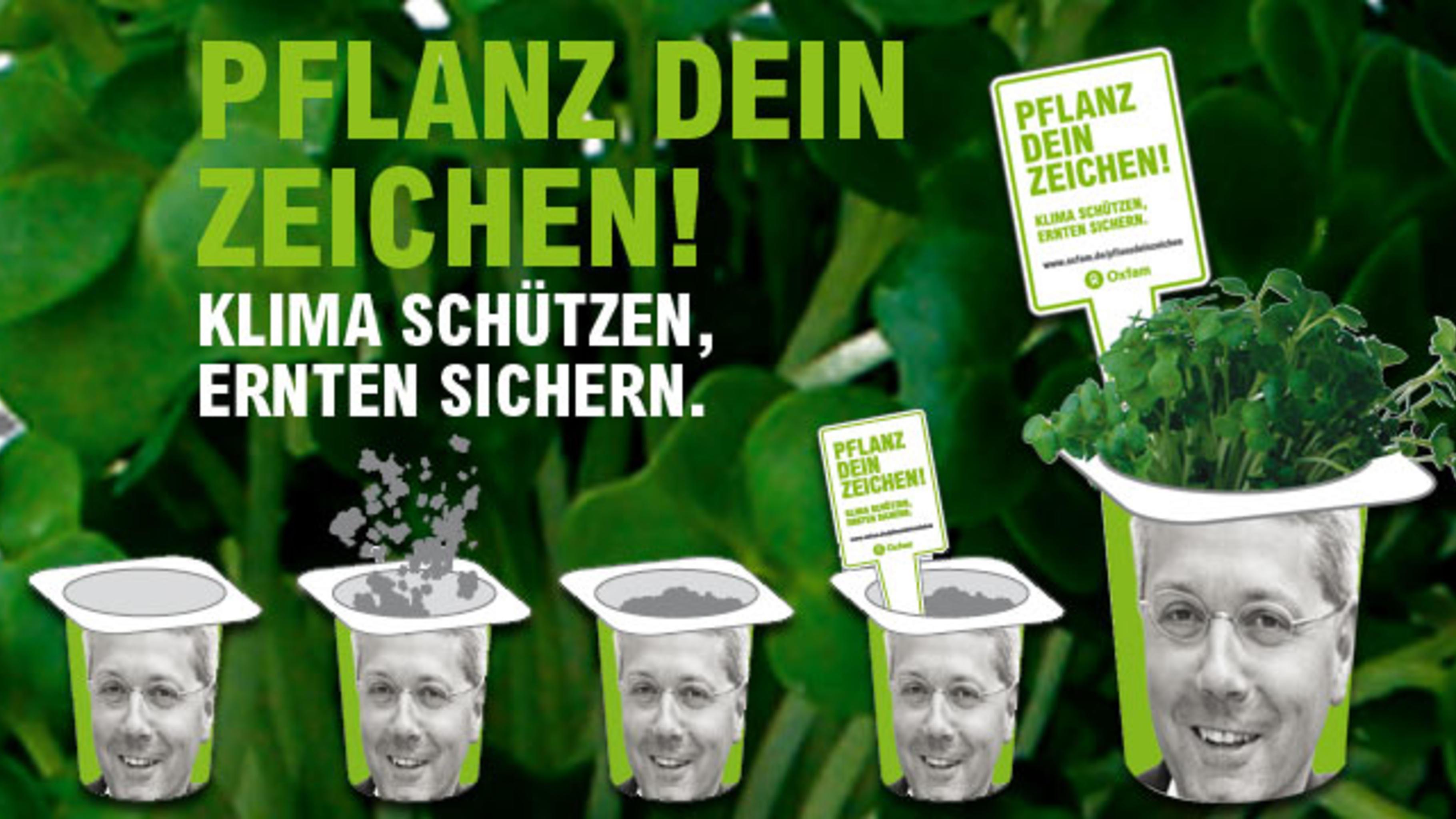 Pflanz Dein Zeichen! - Klima schützen, Ernten sichern.