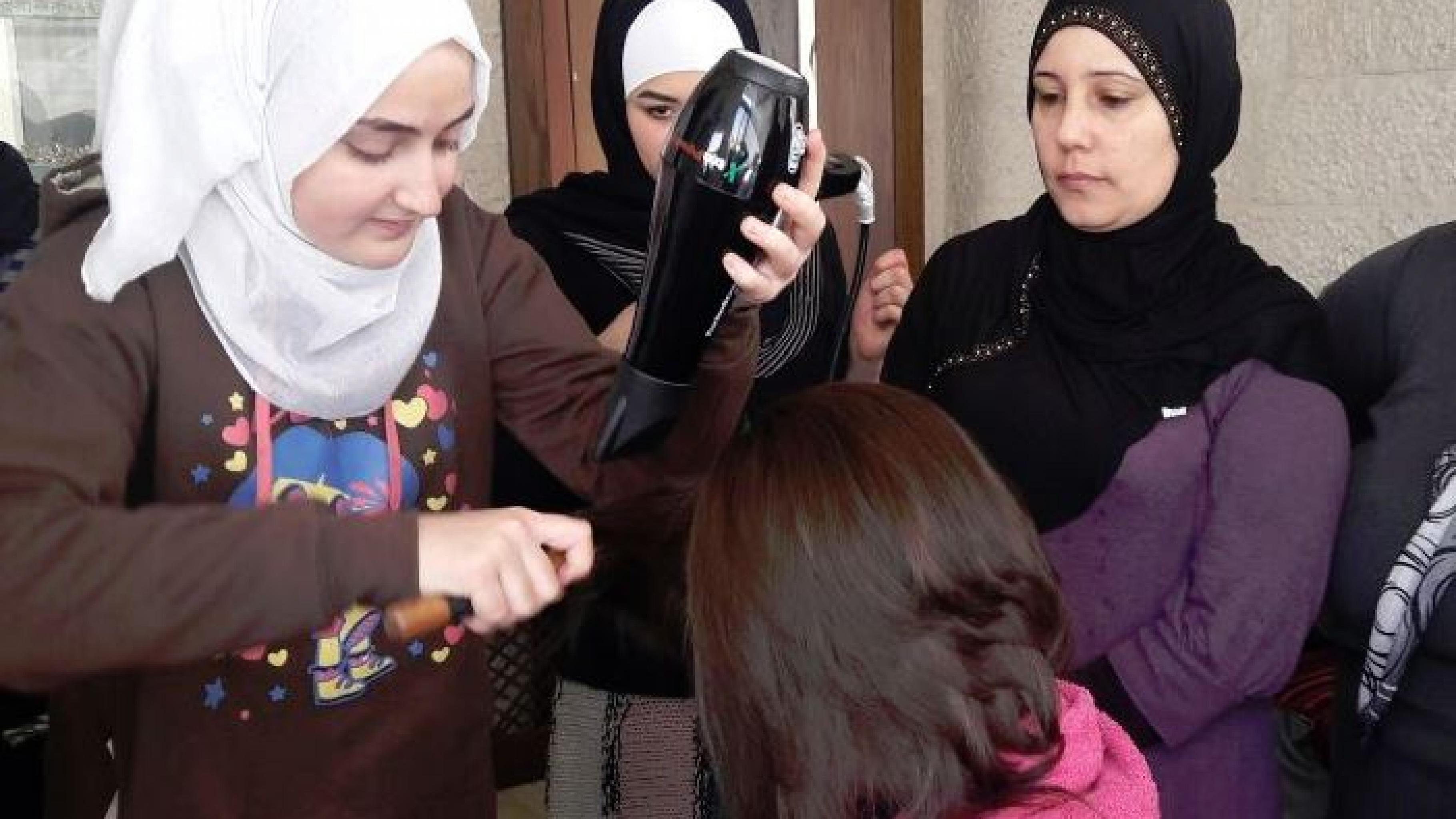 Berufliche Weiterbildung zum Friseurhandwerk in Jordanien