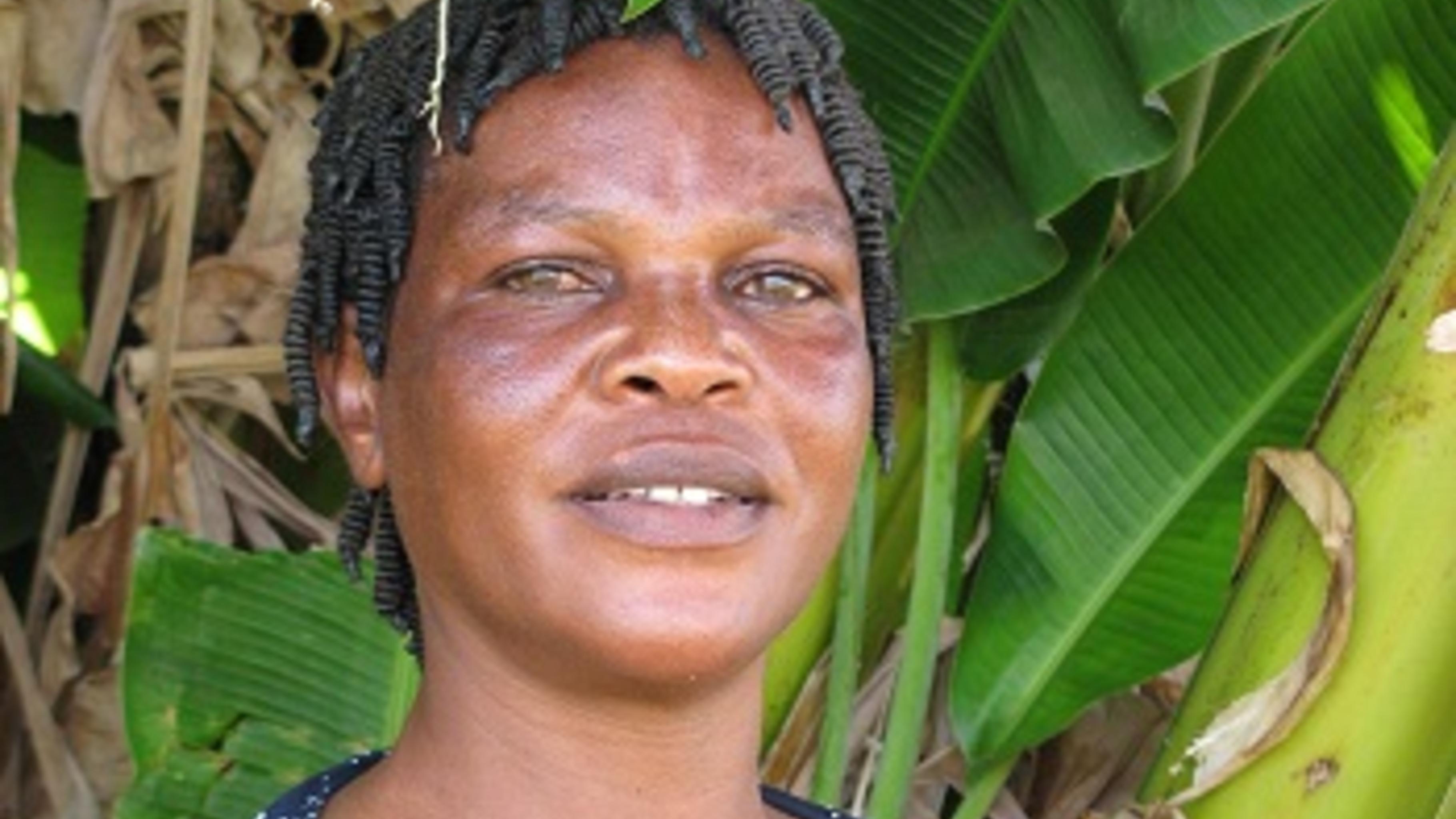 Caroline Malema, HIV-Aktivistin und Vorsitzende des Frauenforums Karonga