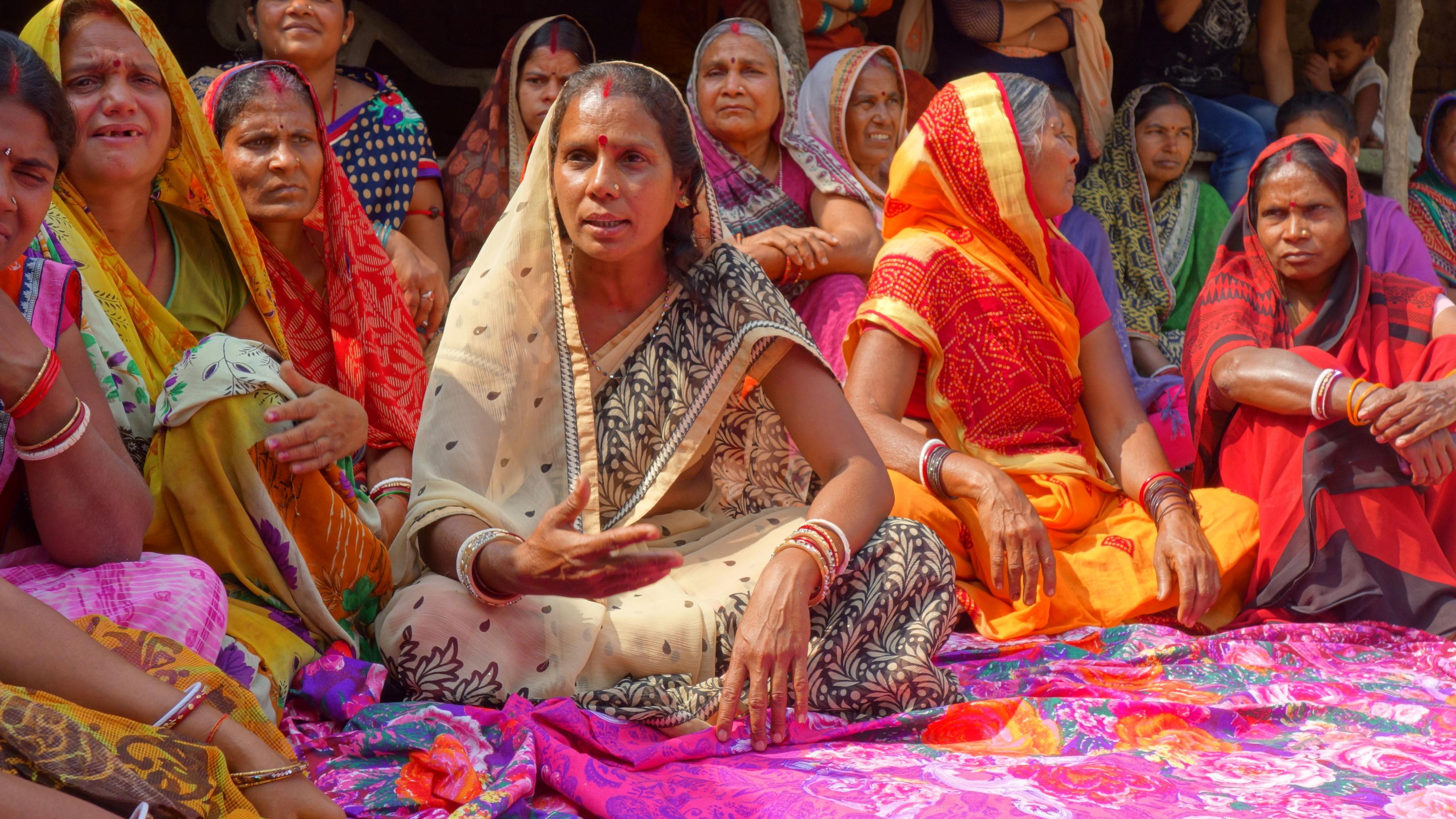Sunita Devi aus Indien
