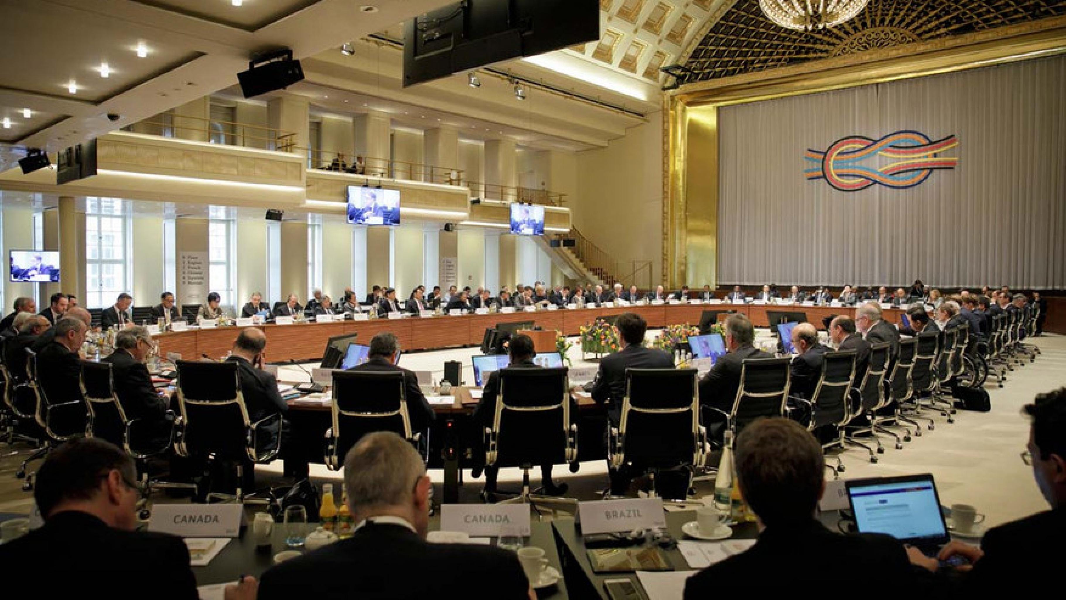 Treffen der G20-Finanzminister in Baden Baden