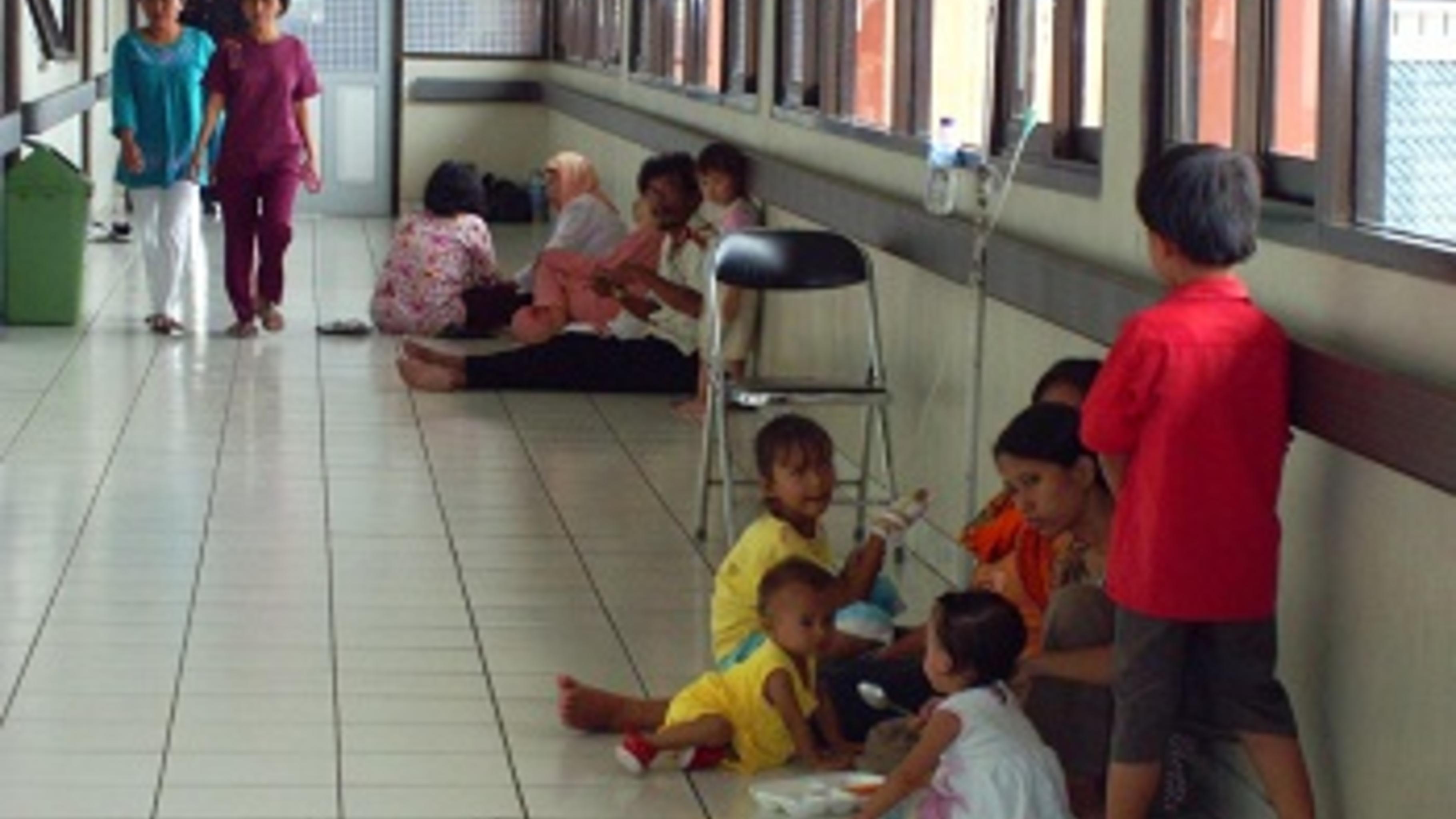 Die Krankenhäuser in Jakarta kommen an die Grenzen ihrer Kapazitäten. Foto: Devi