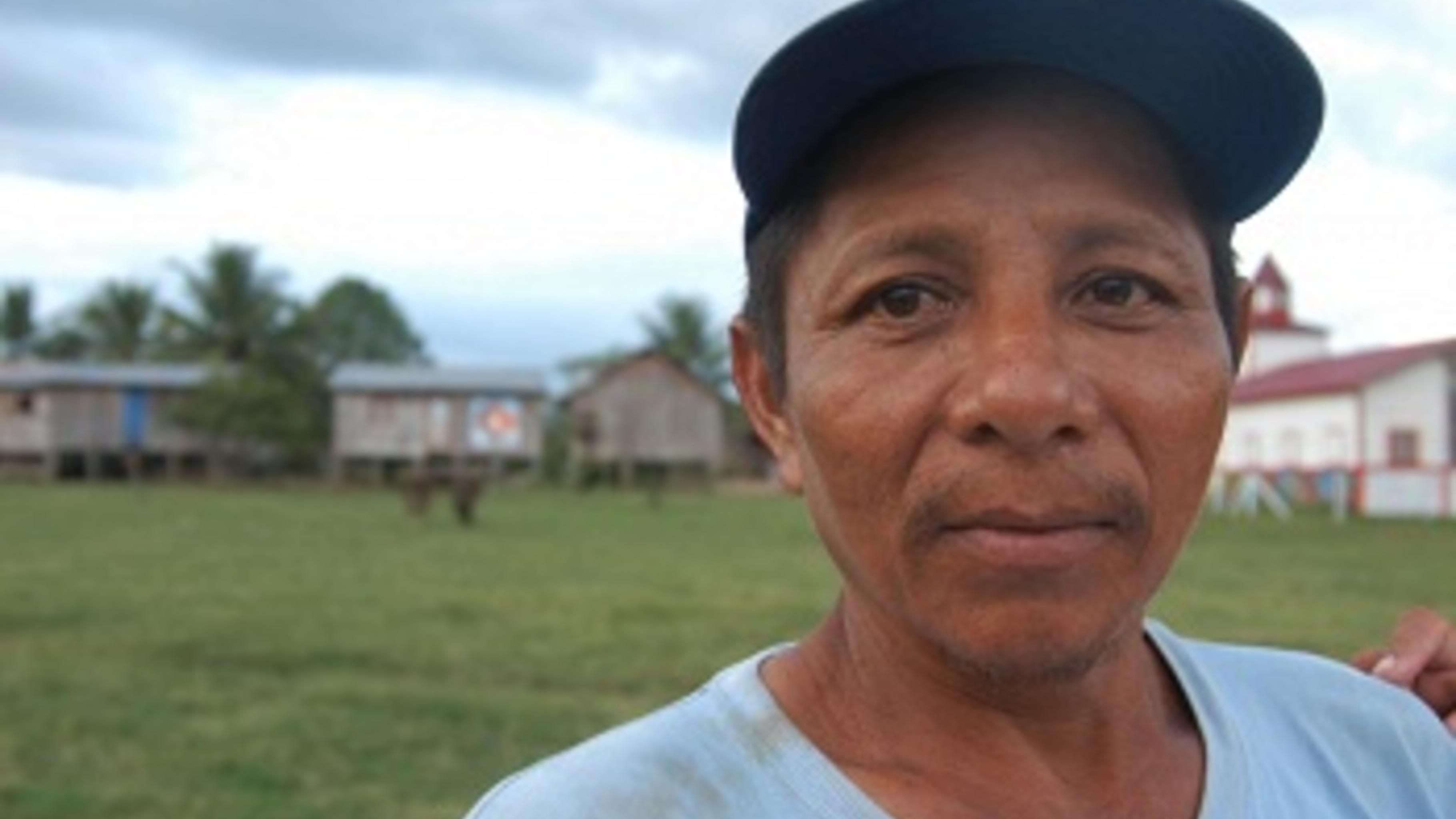 Howard Fernández, Bauer im Nordosten von Nicaragua