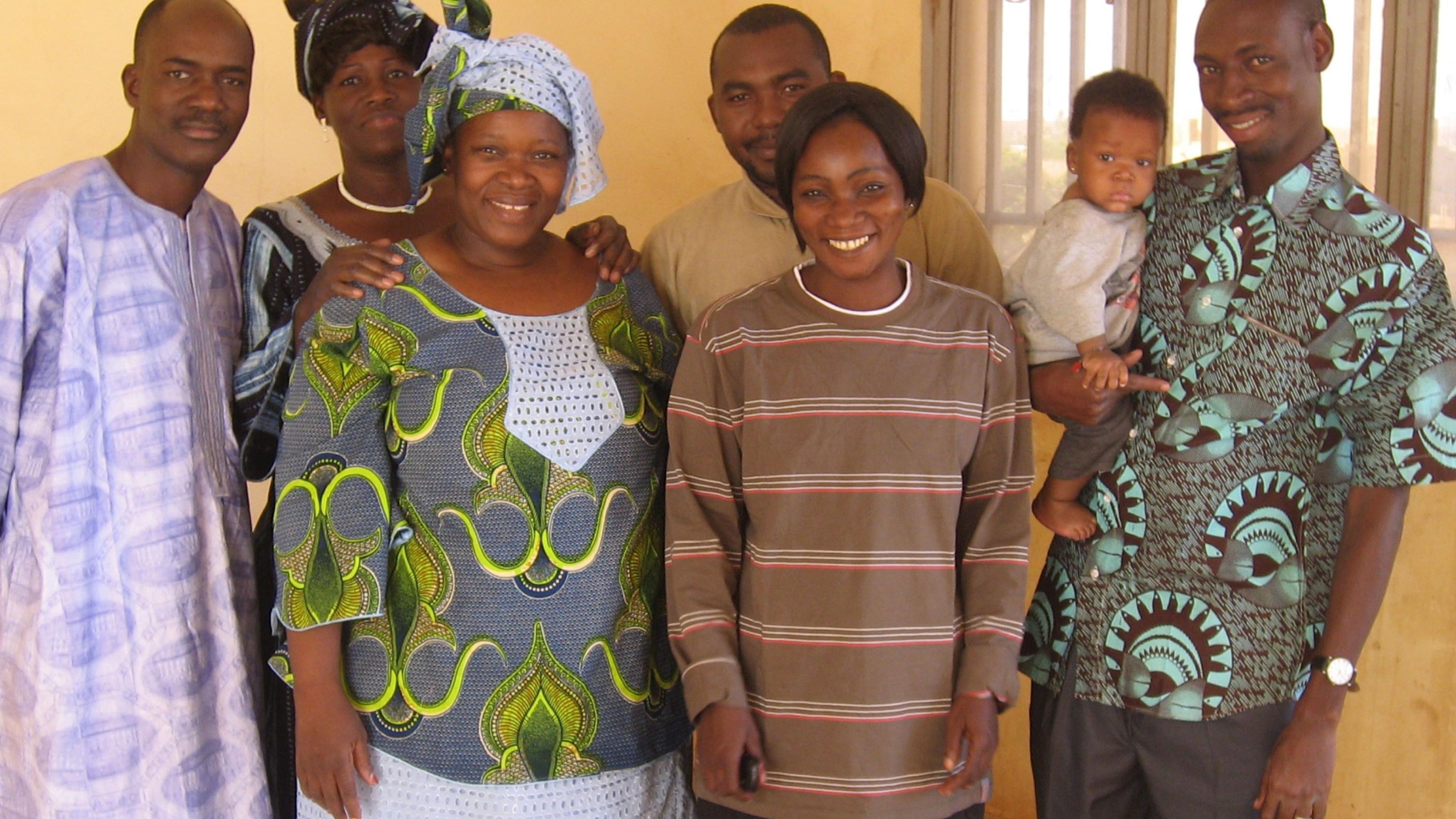 Das Team von APSEF © Oxfam Deutschland