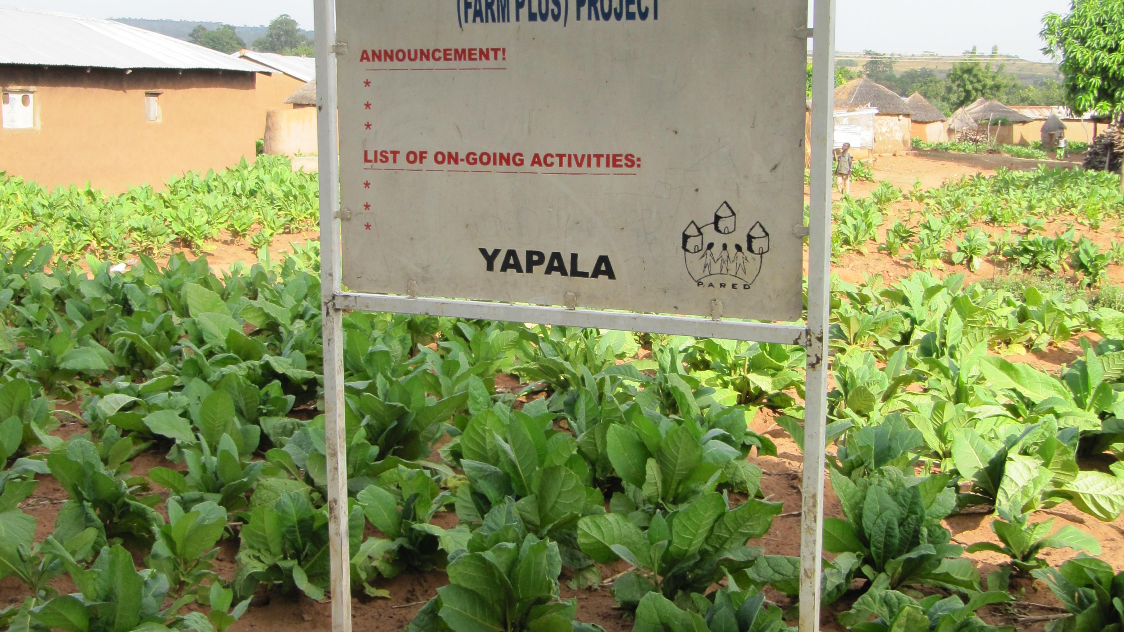 PARED unterstützt Landwirte in der Region
