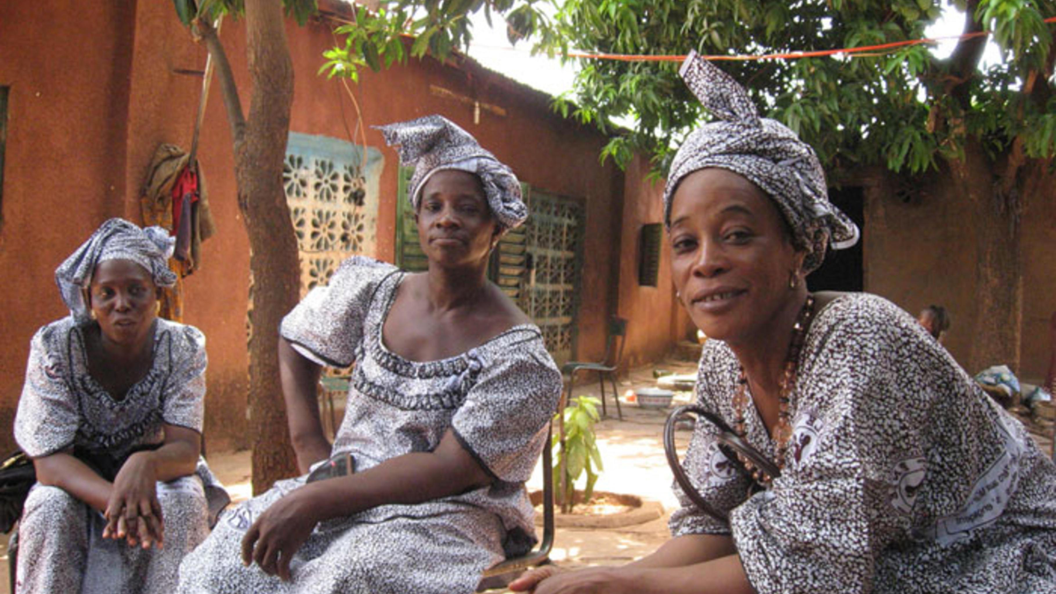 Foto: Die Frauen von Tagnè sind fest entschlossen und hoch motiviert.