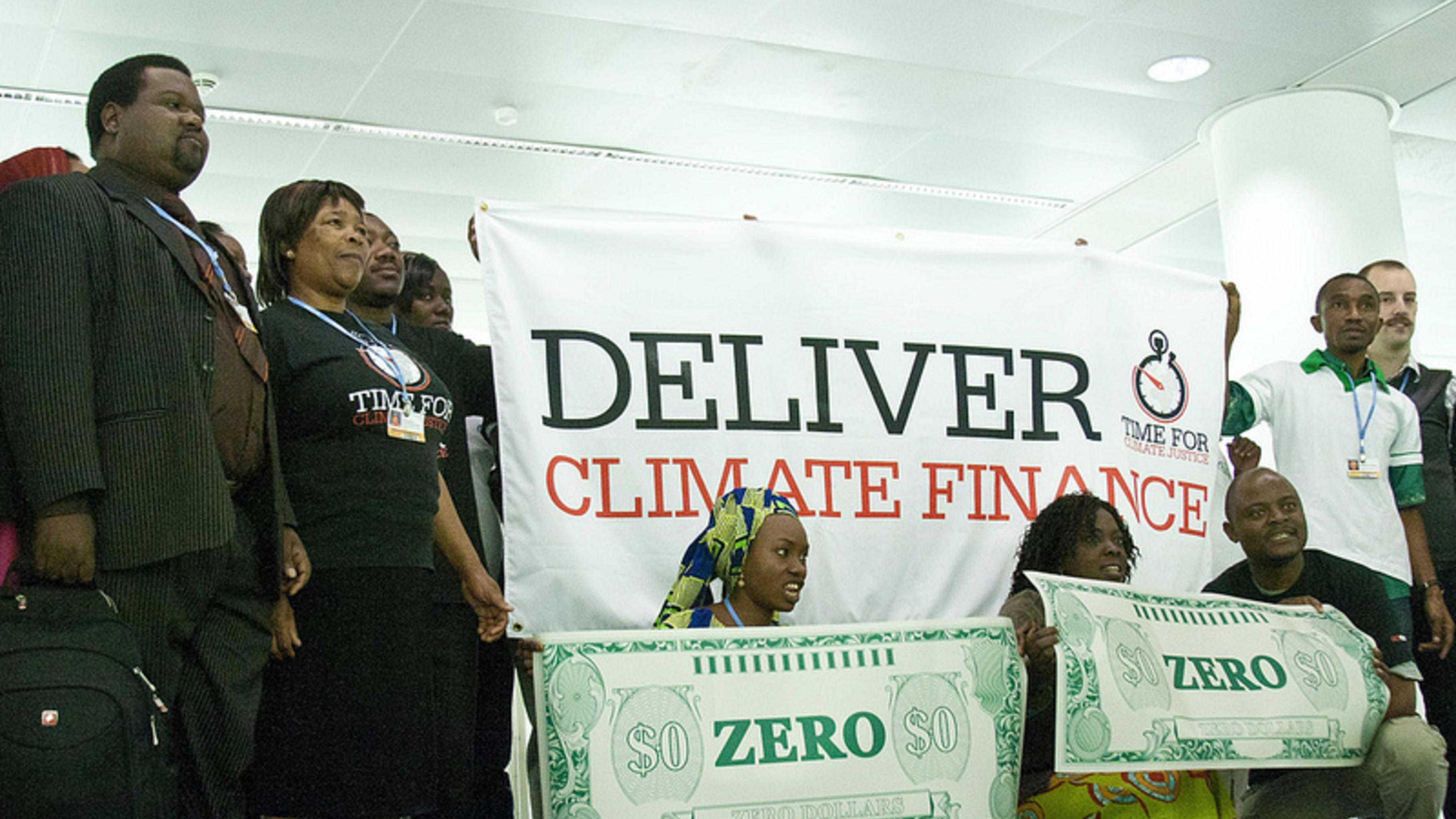 Entwicklungsländer fordern Geld für Klimaschutz