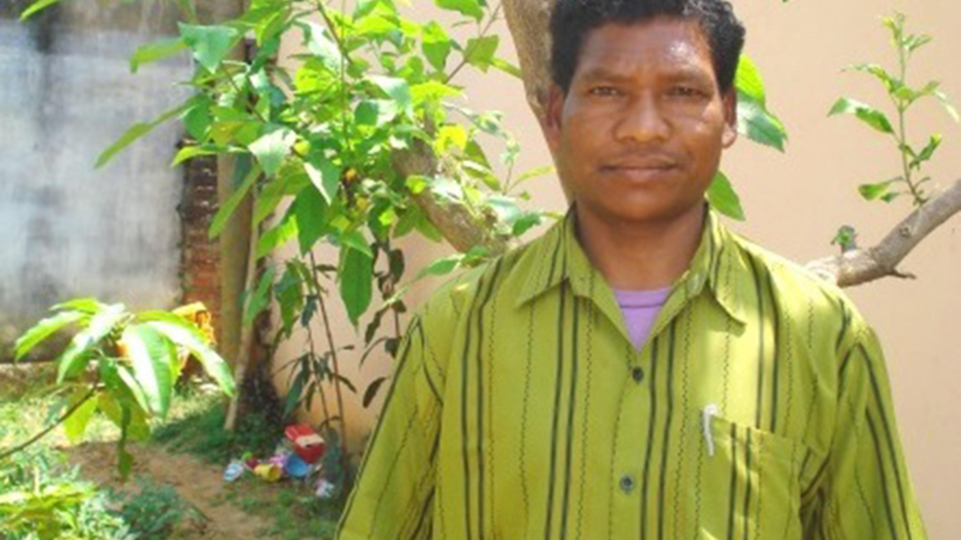 Kuldeep Nagesiya, Mitglied im Schul- und im Gesundheitskomitee © CINI