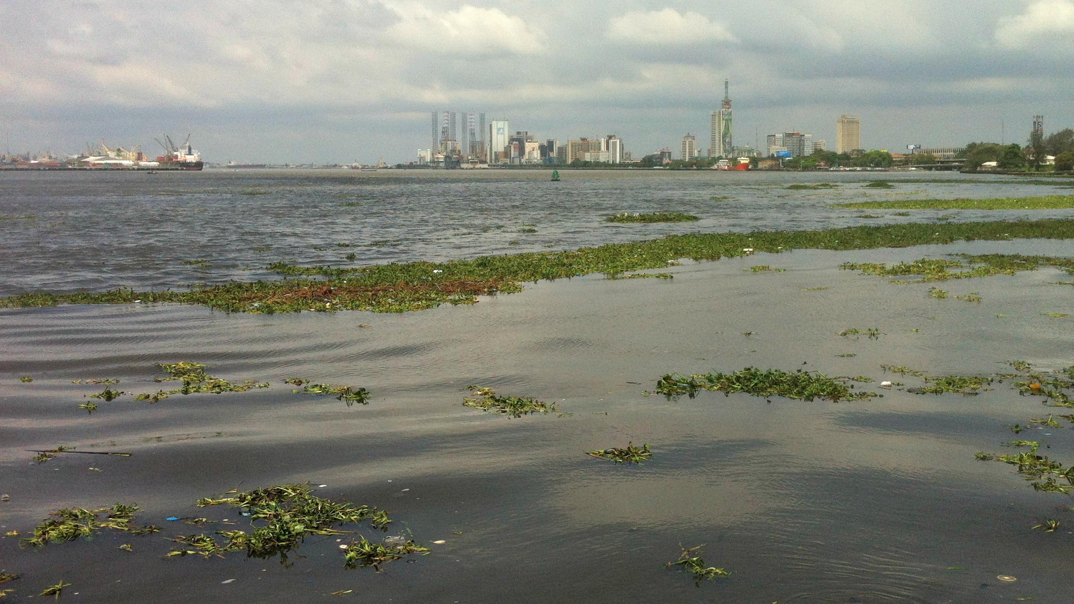 Die Küste von Lagos in Nigeria