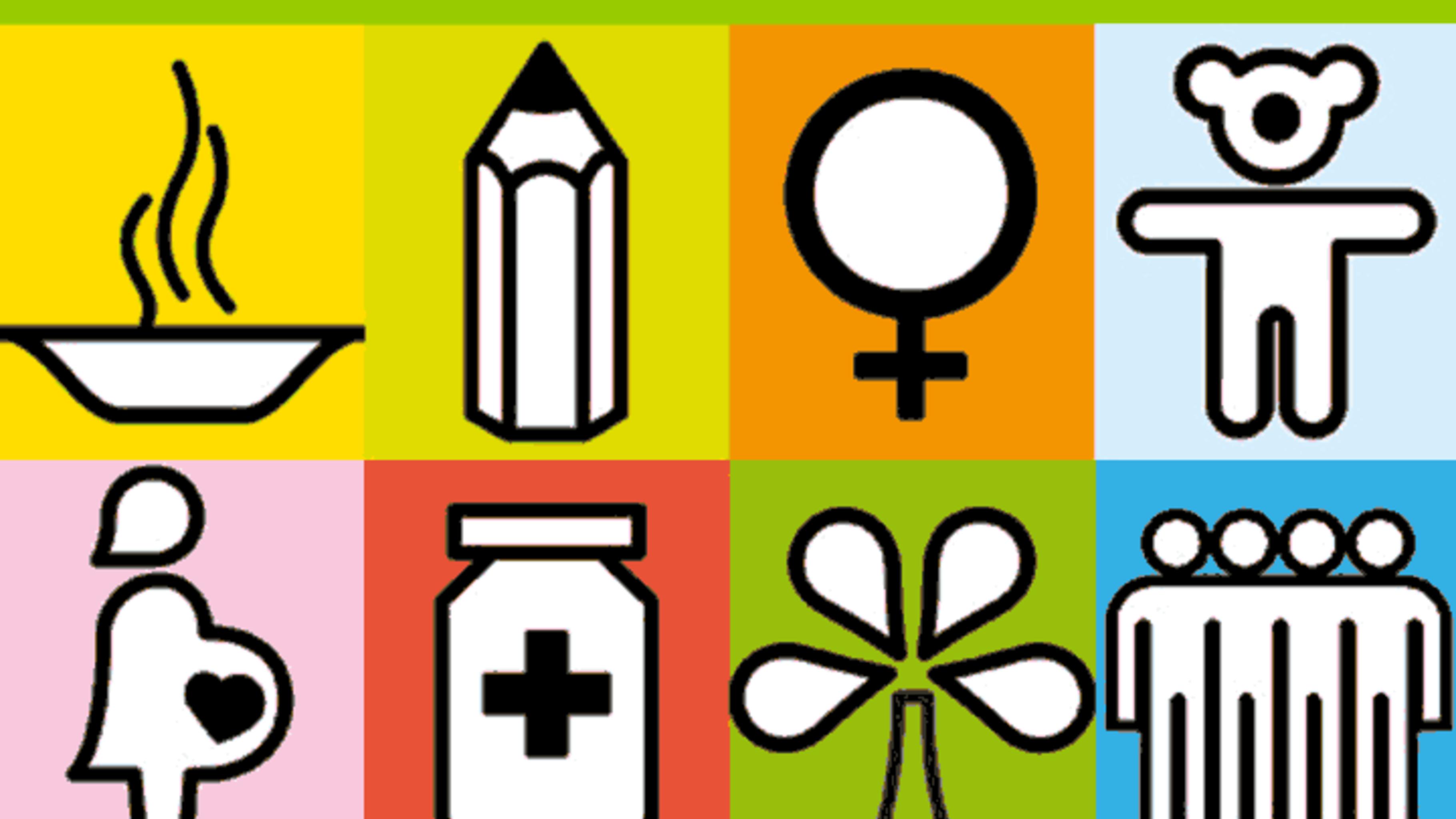 Logos der Millenniumsziele