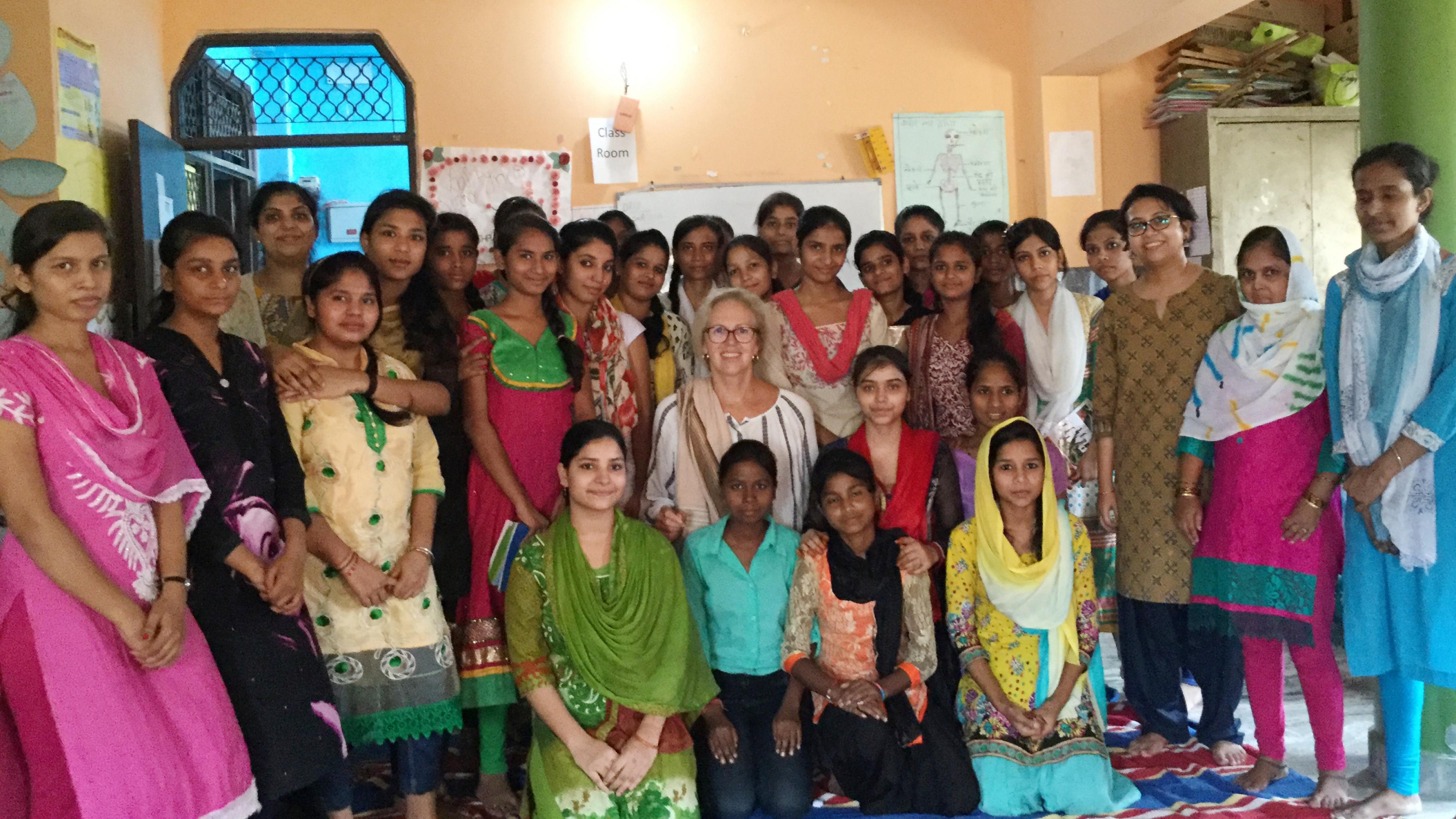 Marion Lieser in Indien