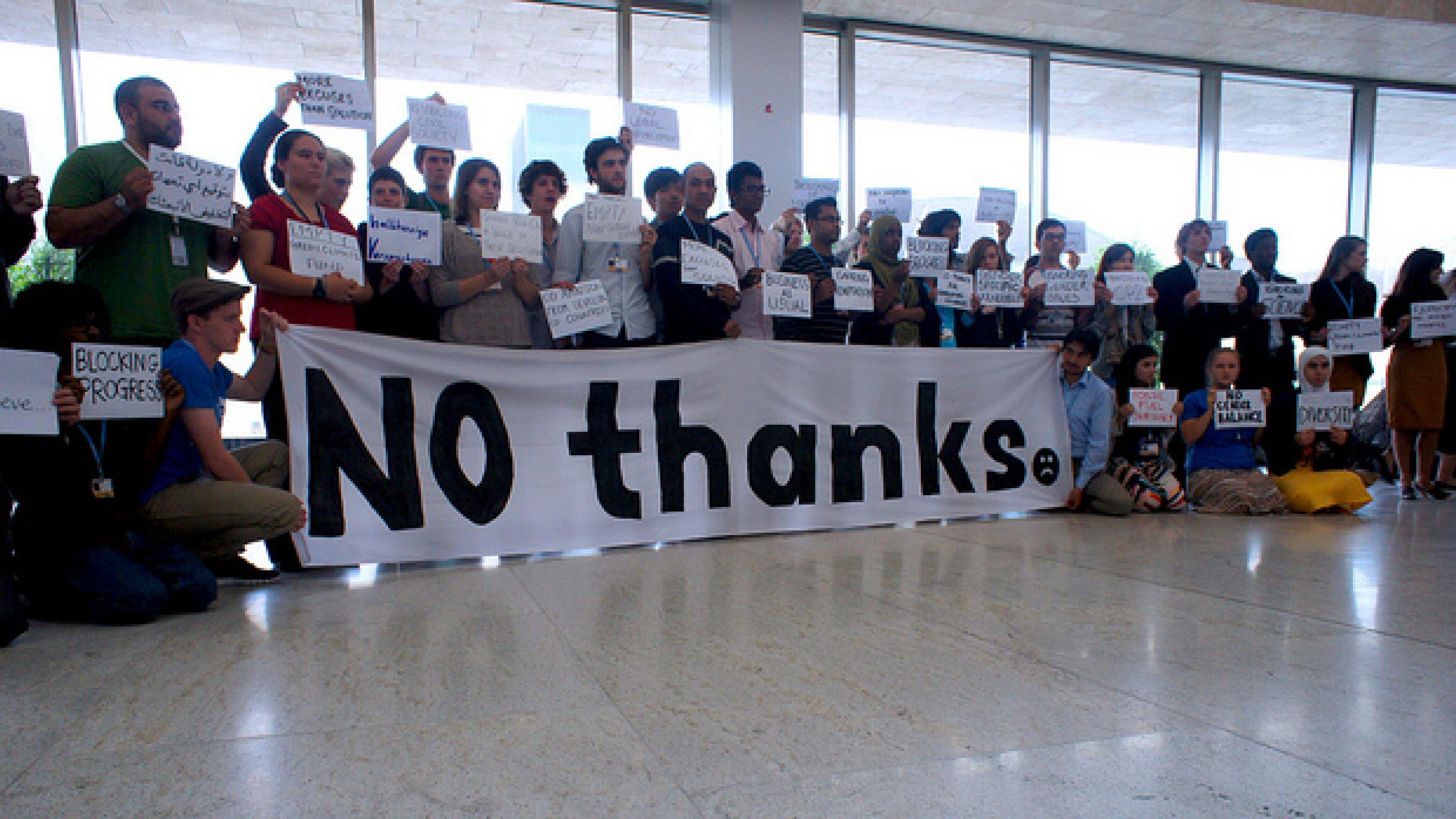 Jugendevent bei der COP 18
