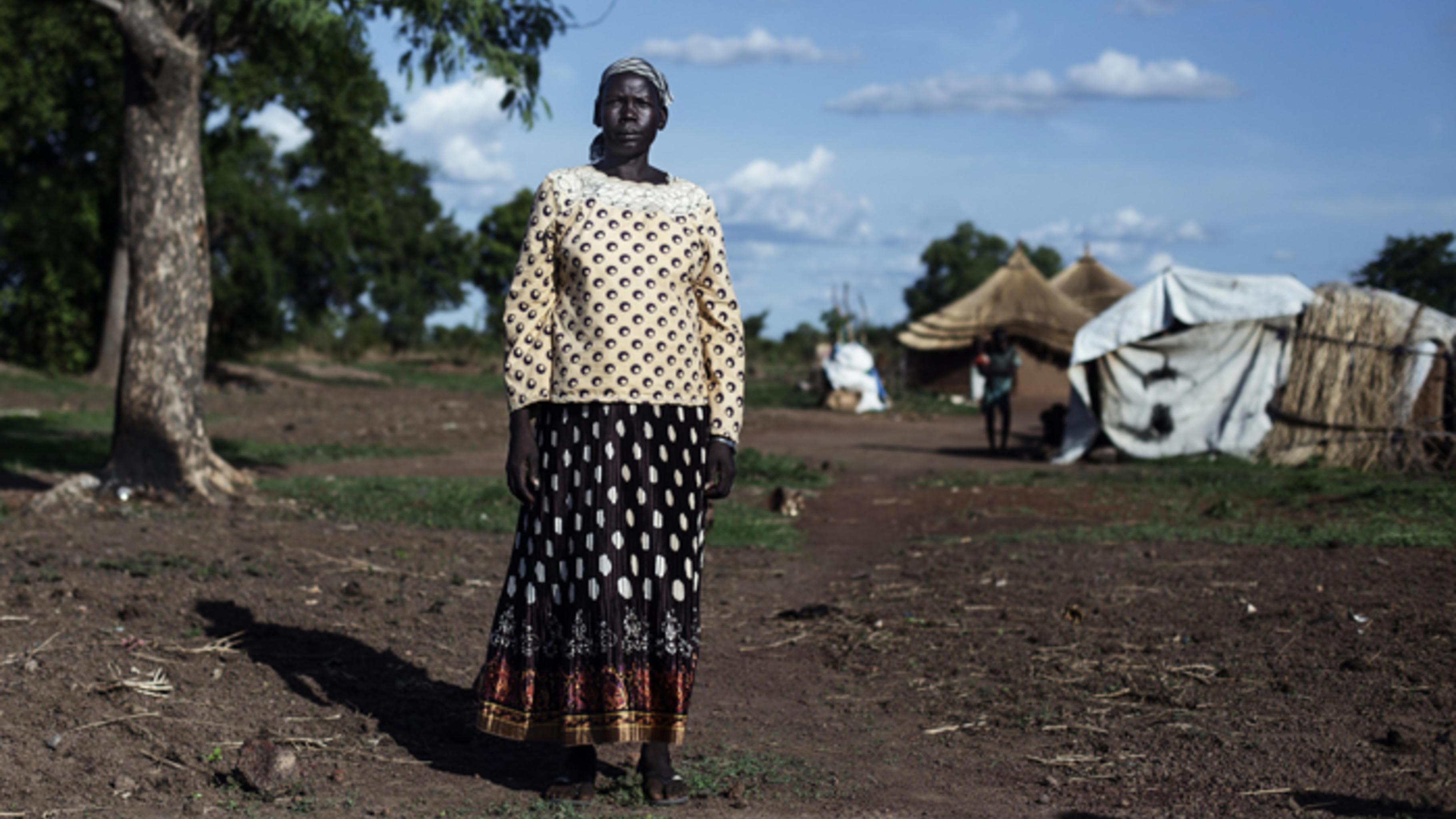 Die 37 Jahre alte Maria Ayok floh 2011 aus ihrer Heimat.
