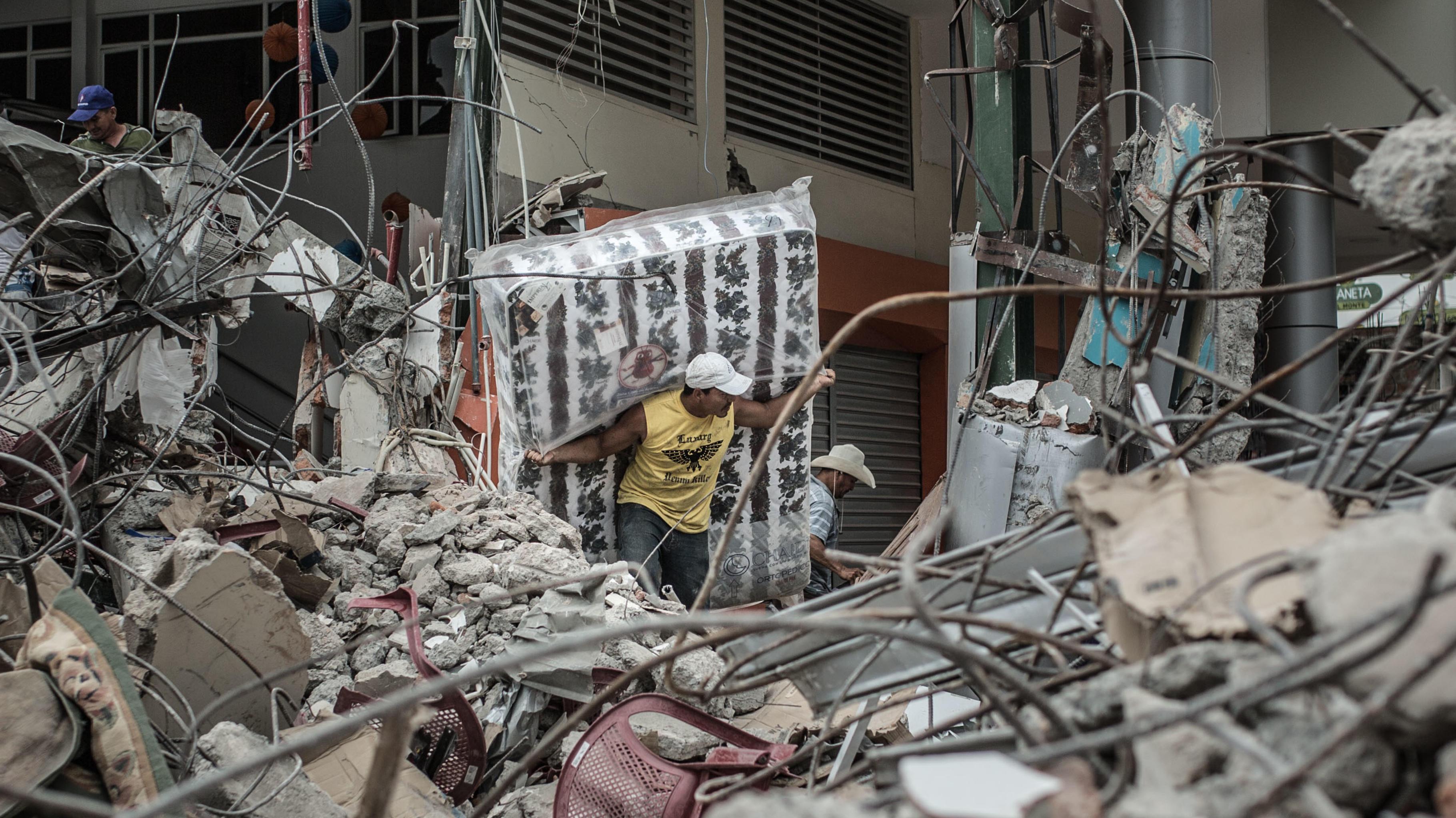 Nach dem Erdbeben in Honduras