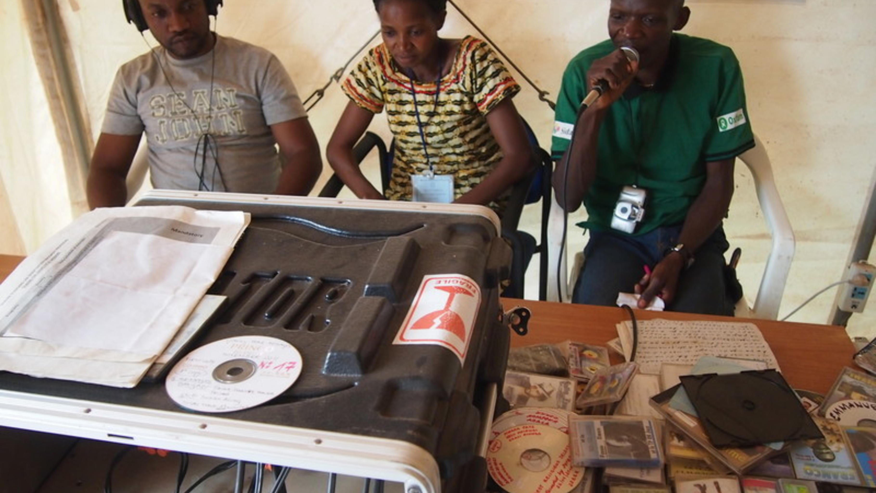Radiostation in der DR Kongo