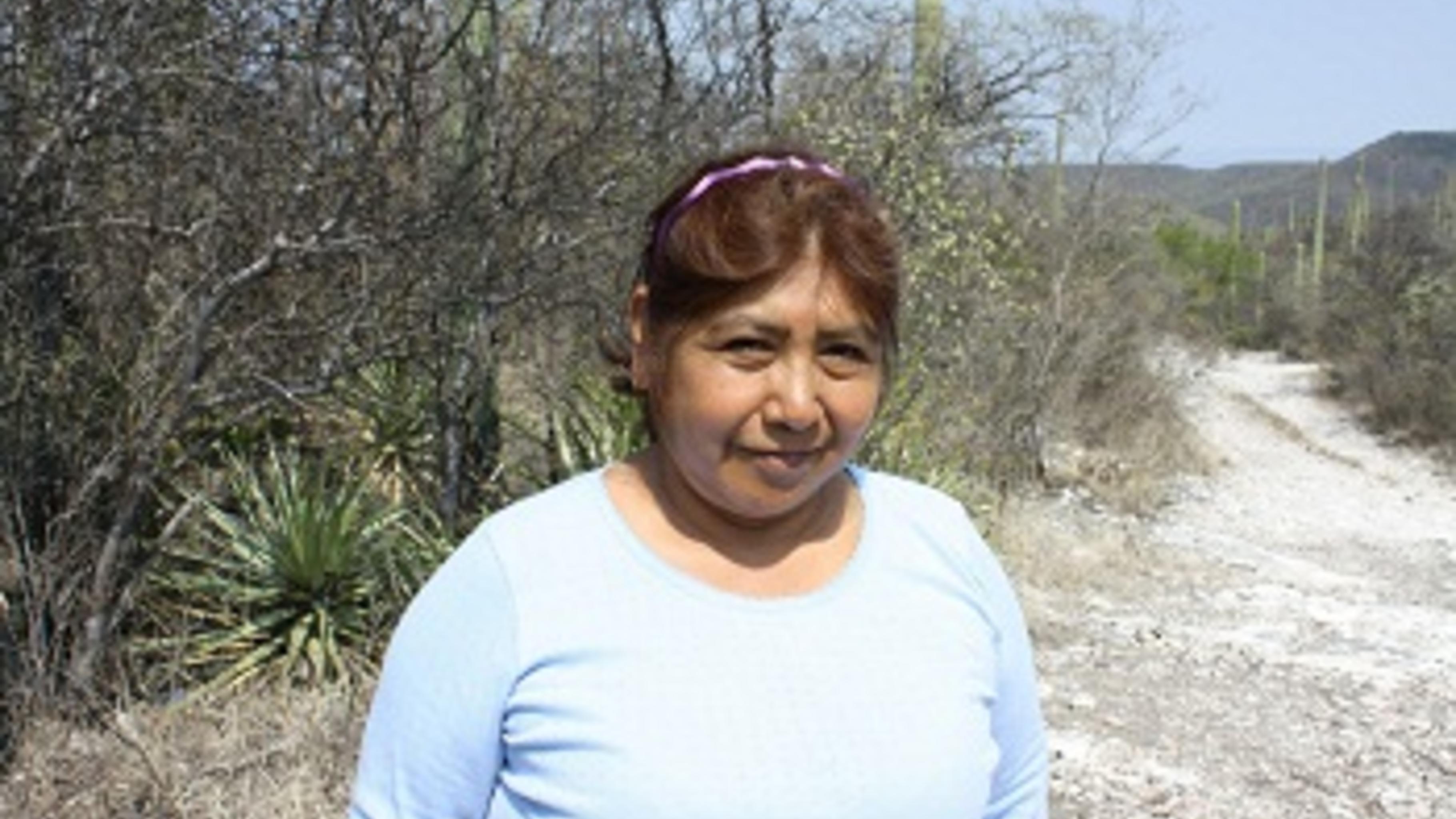 Oliveria Aguilar Perez, 53, Imkerin und Bäuerin © Brinicombe/Oxfam