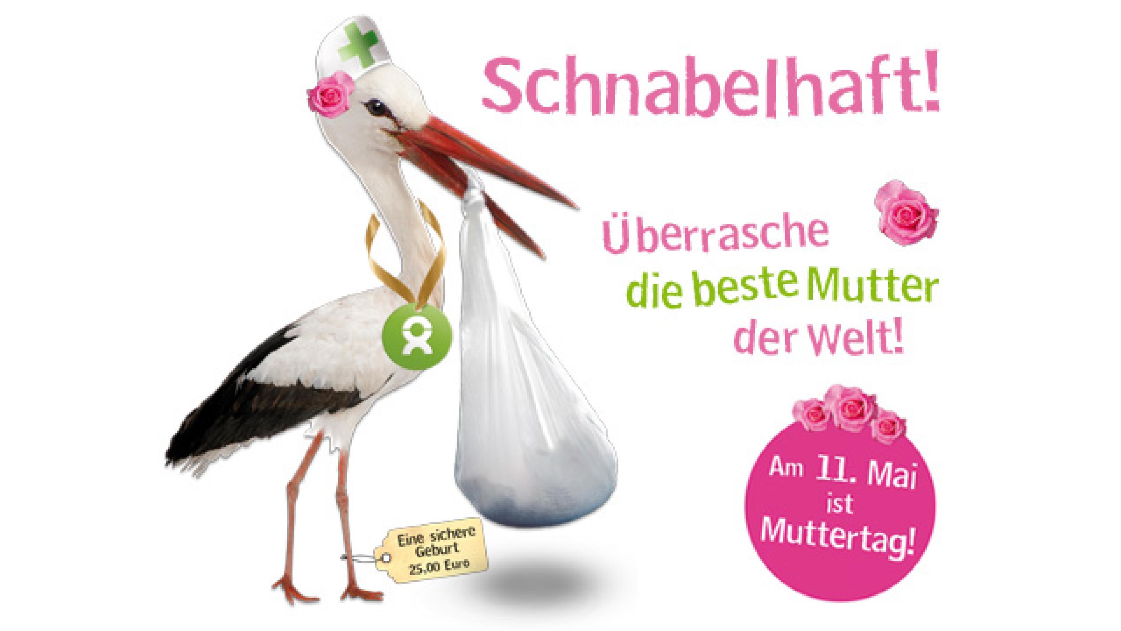 """OxfamUnverpackt Geschenk """"Eine sichere Geburt"""" zum Muttertag"""