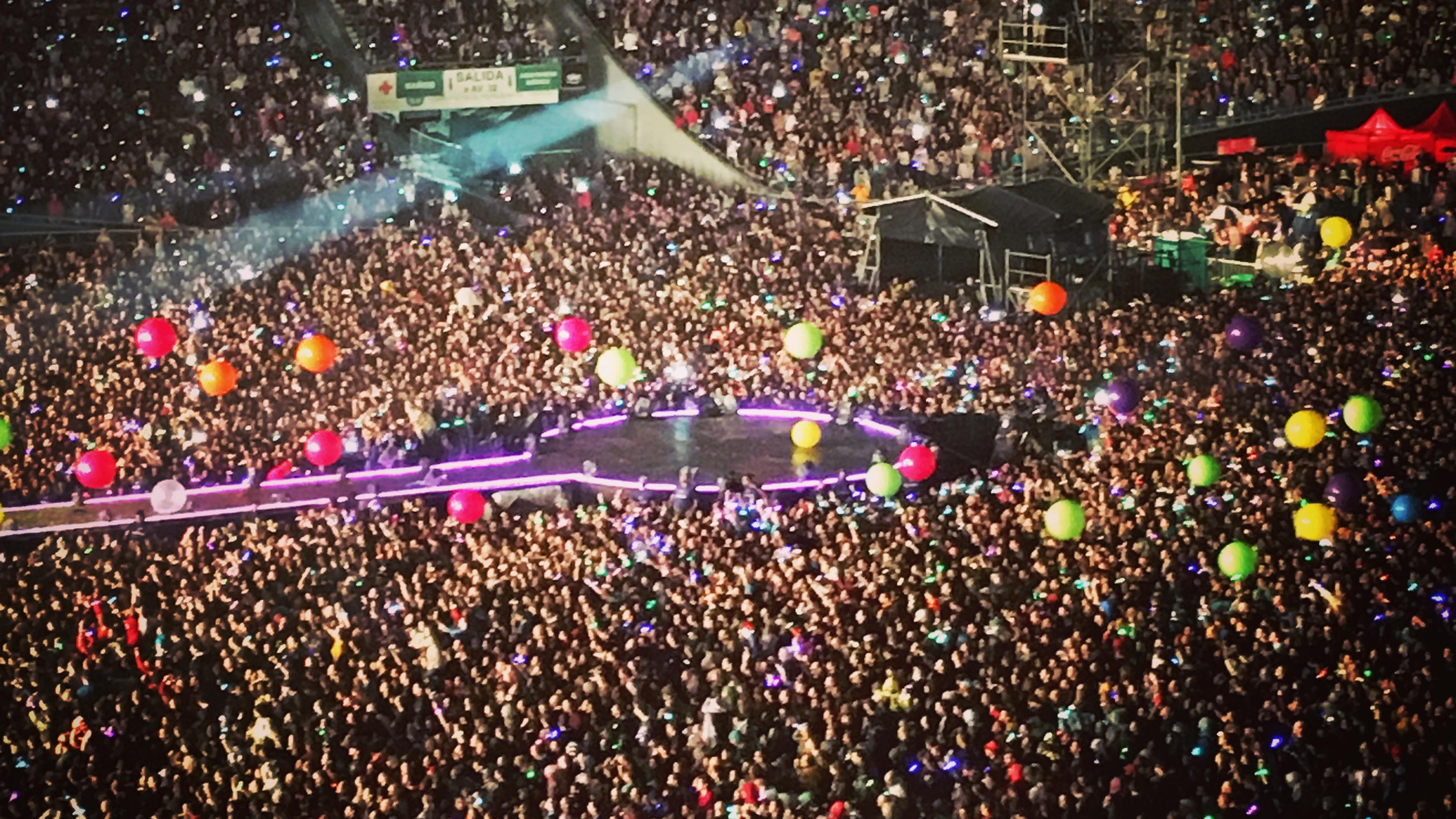 Coldplay Konzert