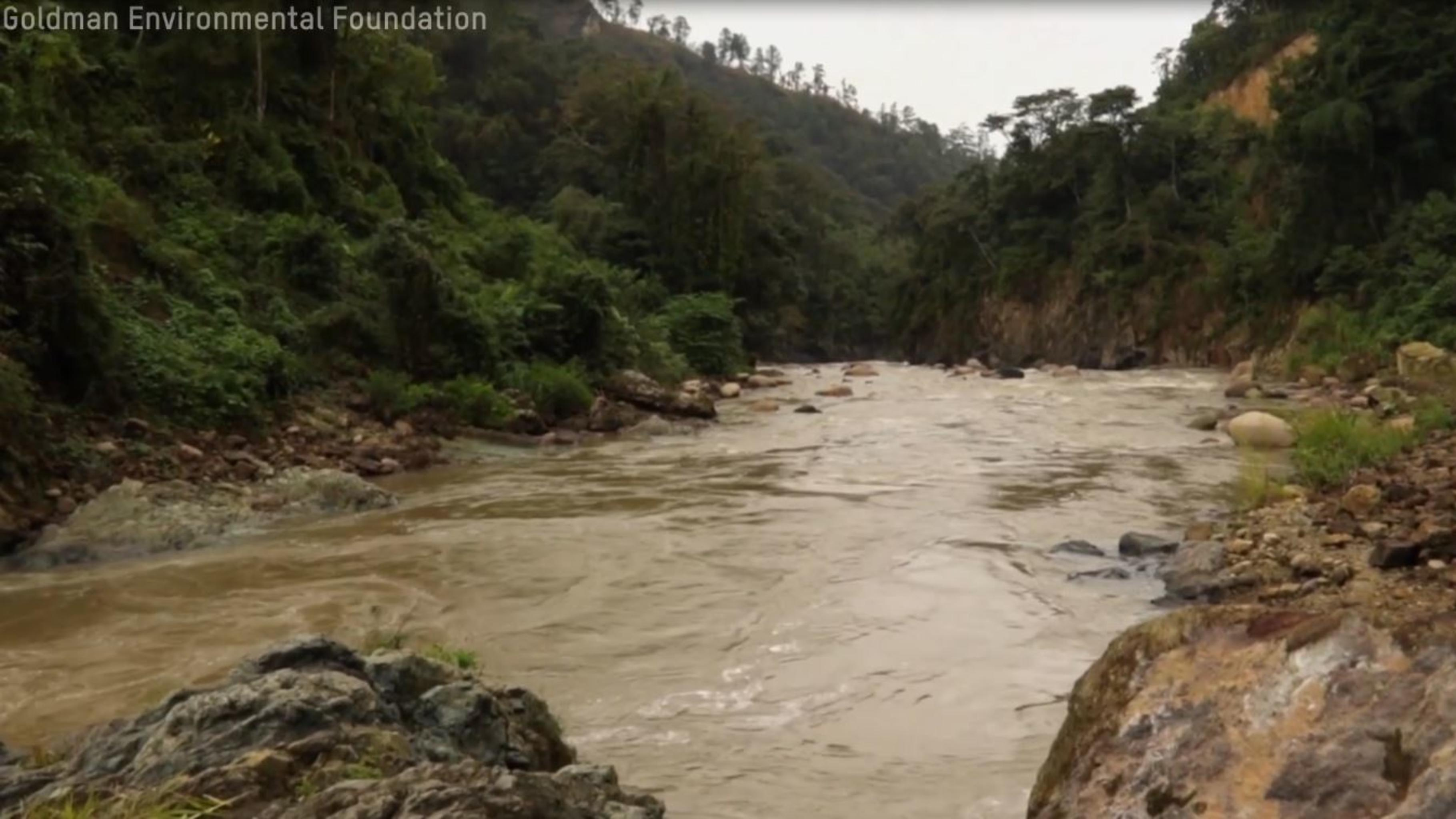 Fluss Gualcarque in Honduras