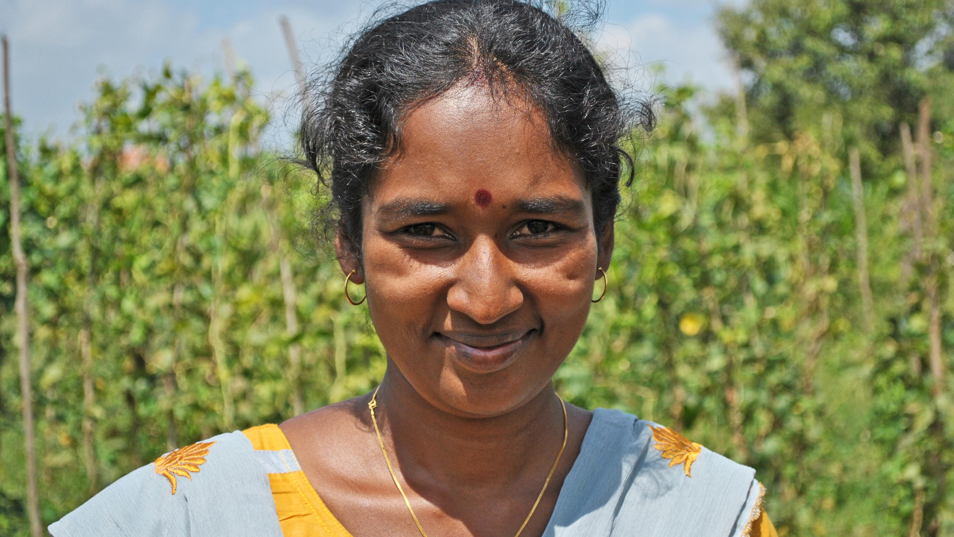 landwirtschaftliche Beraterin L.C. Krishnaveny