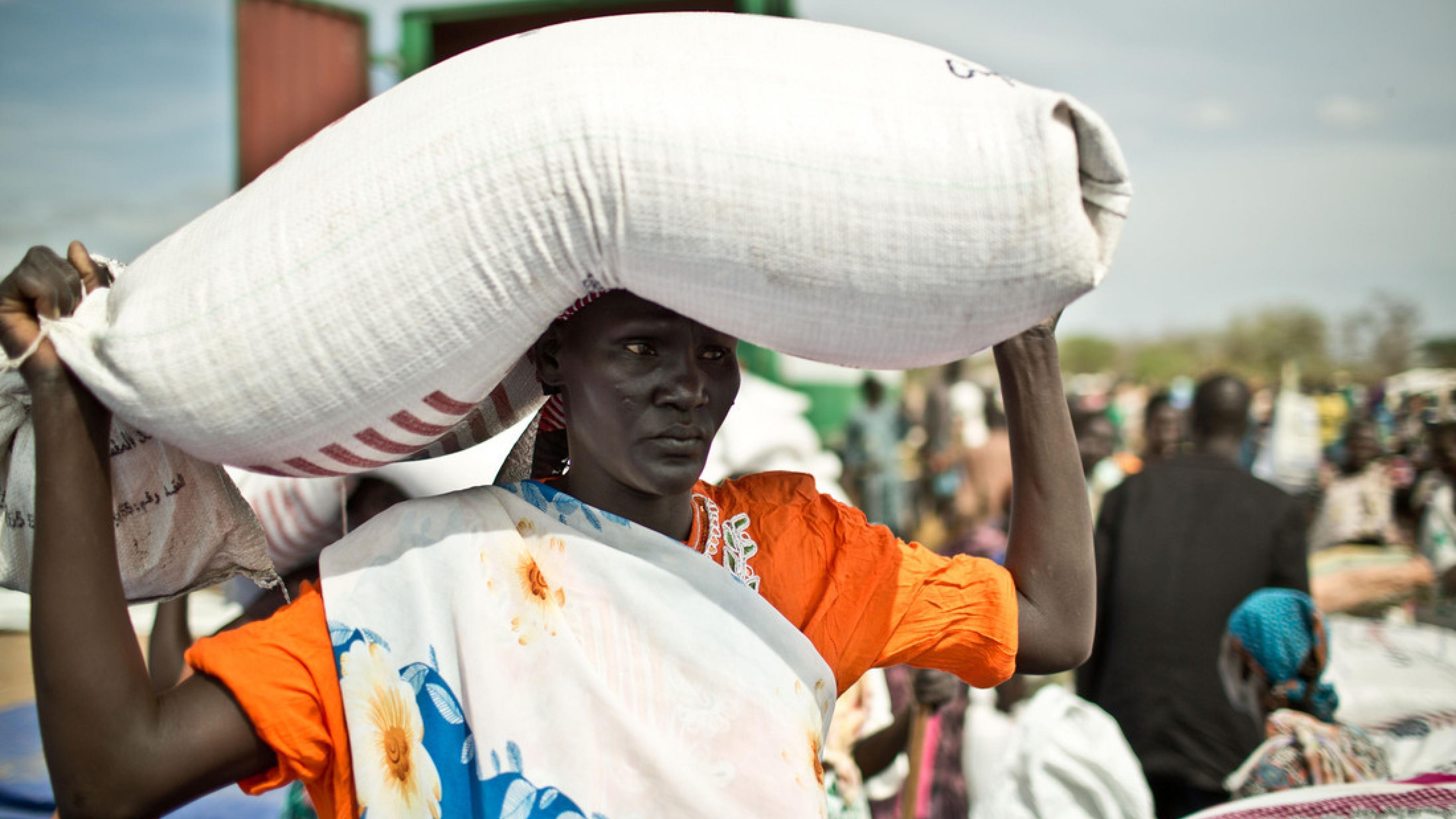 Südsudan: Nahrungsmittelverteilung