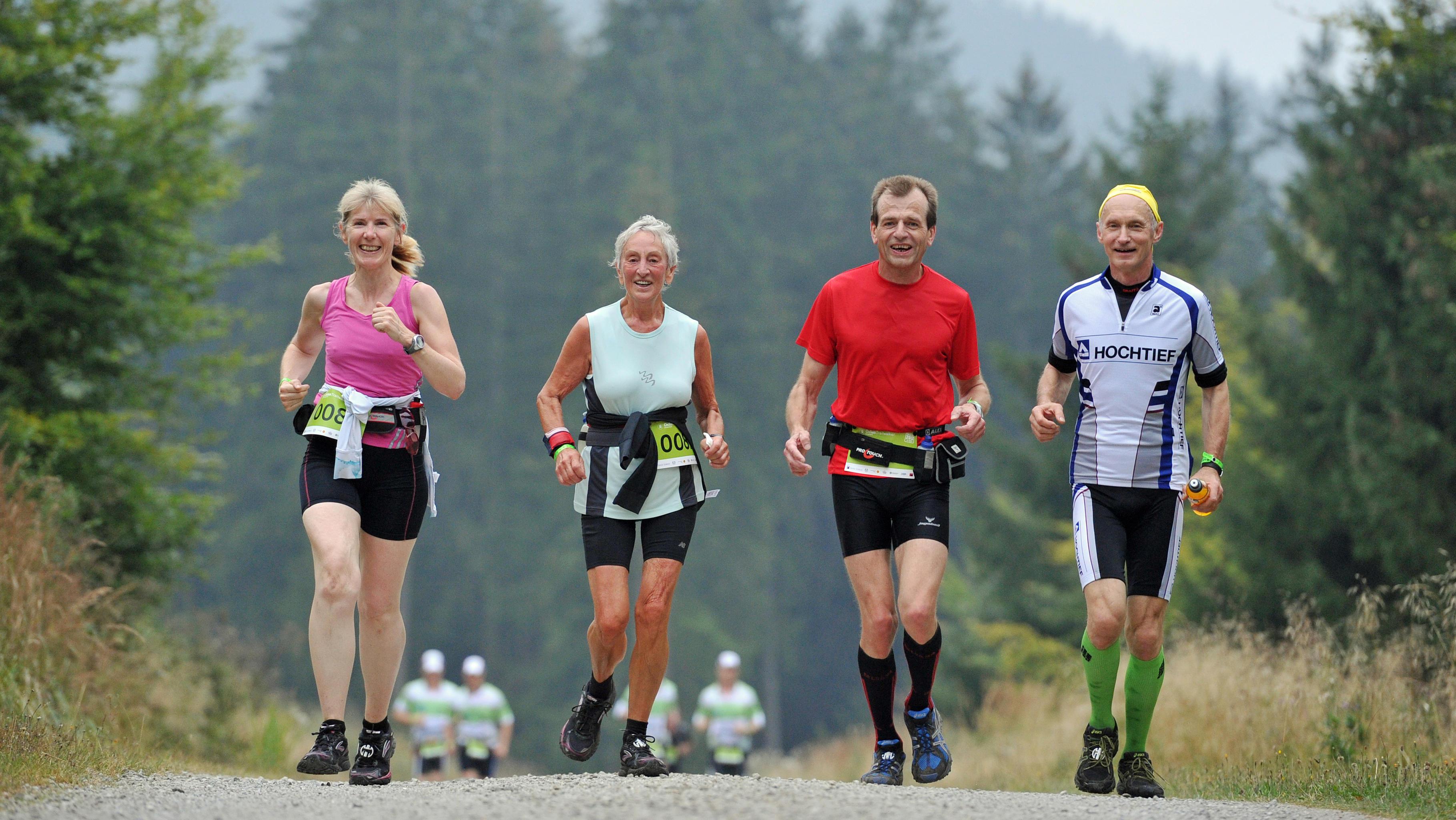 Oxfam Deutschland Trailwalker 2012 - Waldgeister