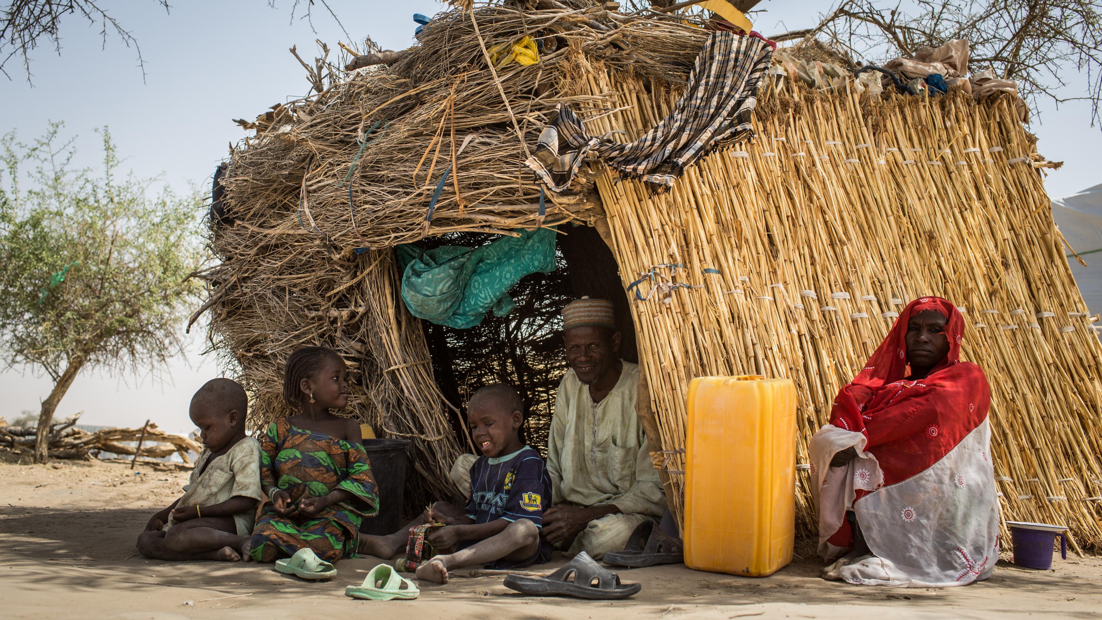 Abba, 61, Sayam Camp, Niger