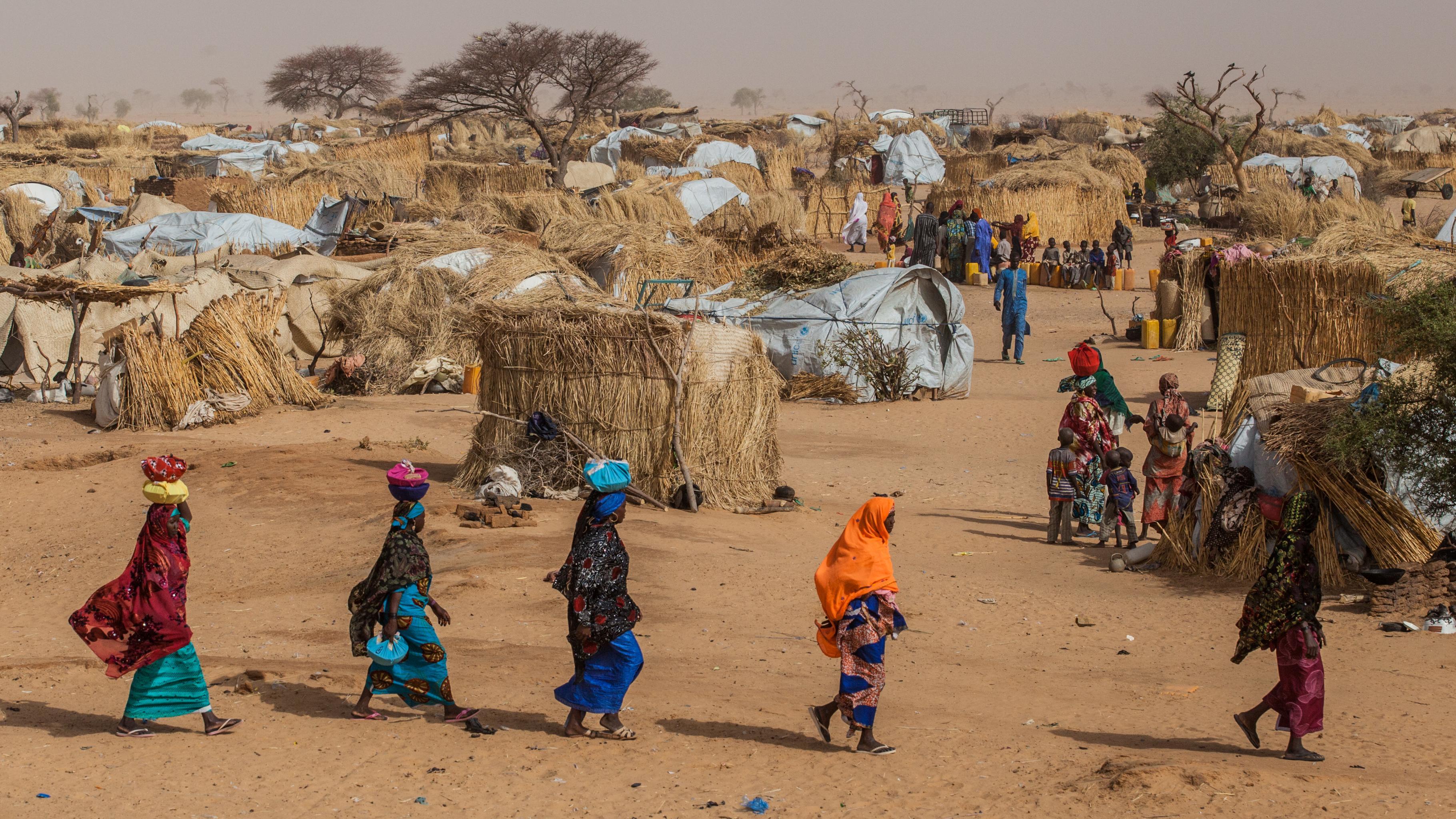 Frauen im Camp Assaga in Niger.
