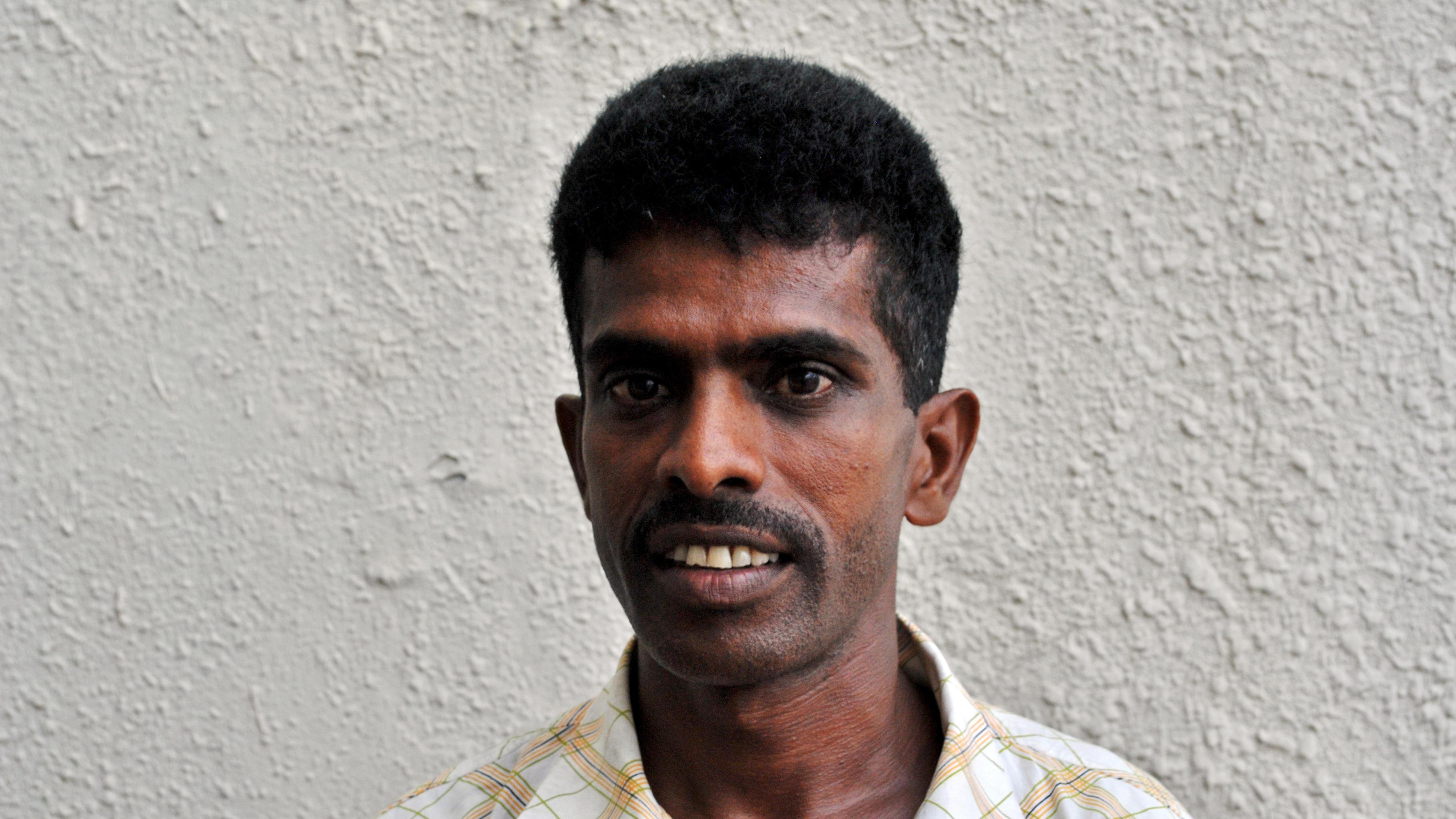 Punchirala Somasiri hat den Aufstand der Kleinbauern und -bäuerinnen in Sri Lanka angeführt.