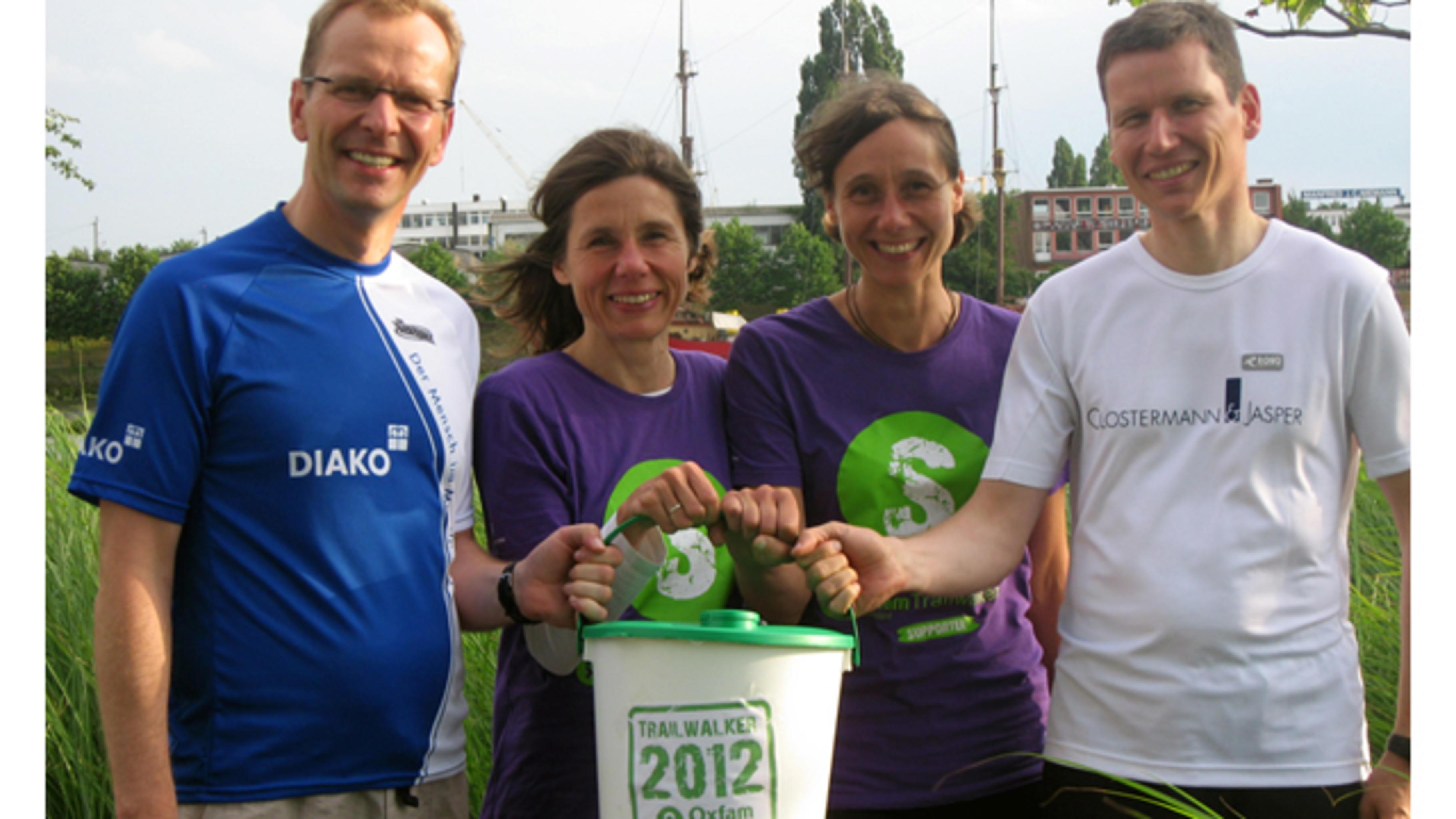 """Team """"Bremen 4.00"""" © Oxfam Deutschland"""