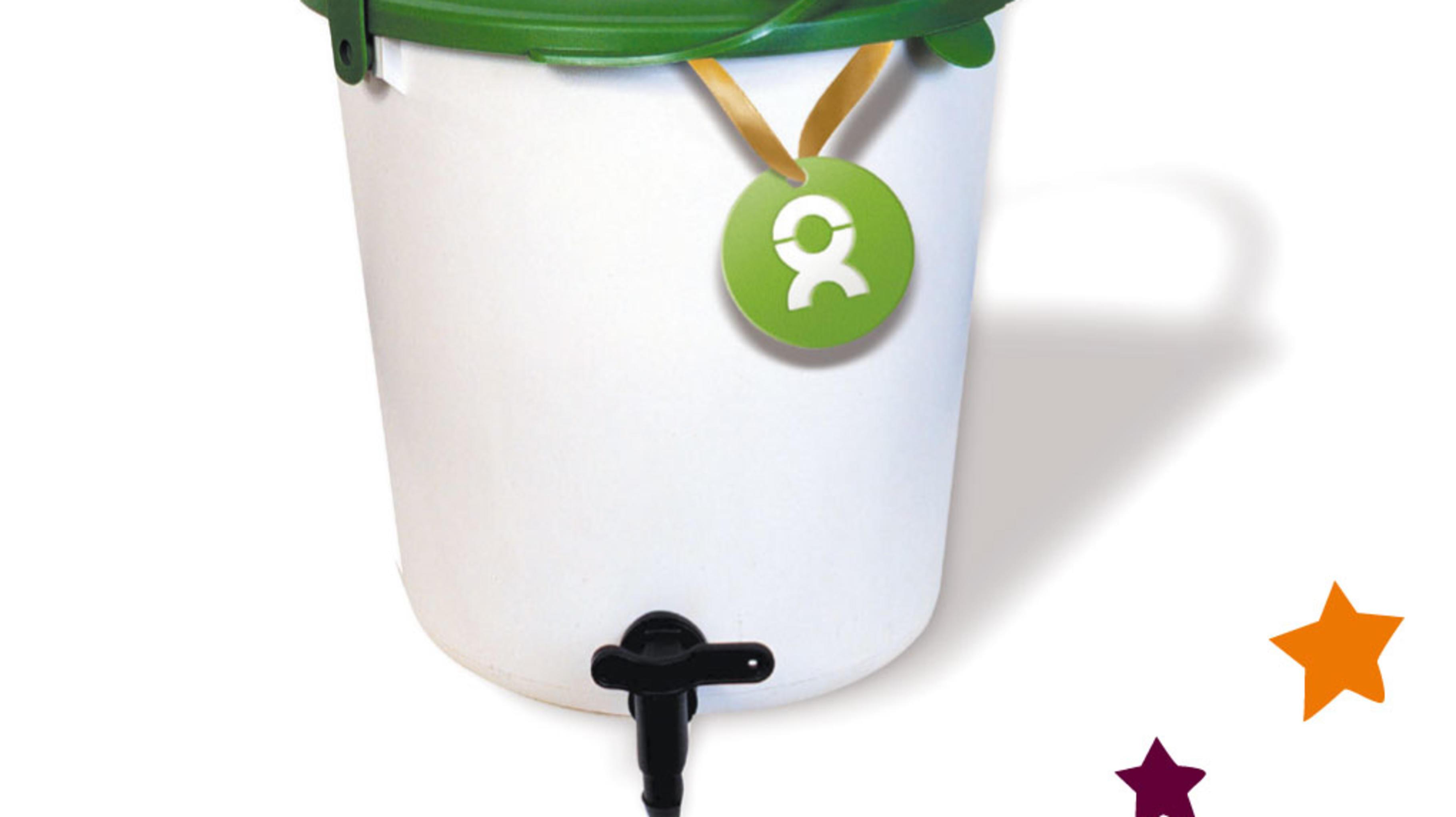 OxfamUnverpackt: Wassereimer