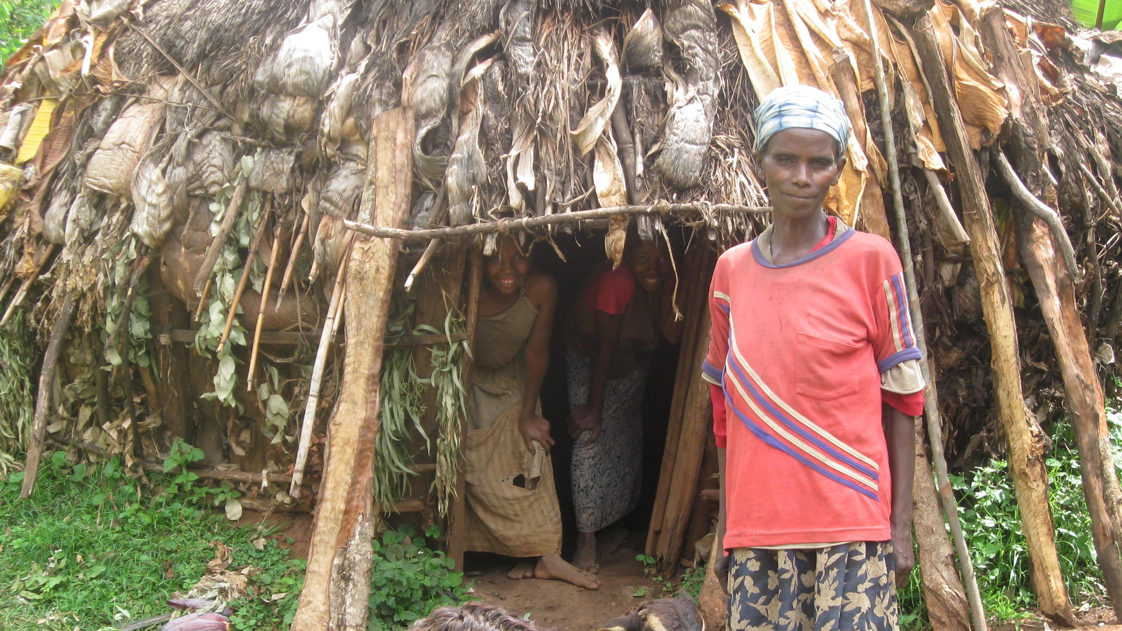 Oxfam Projekt in Äthiopien: Frau mit Ziege