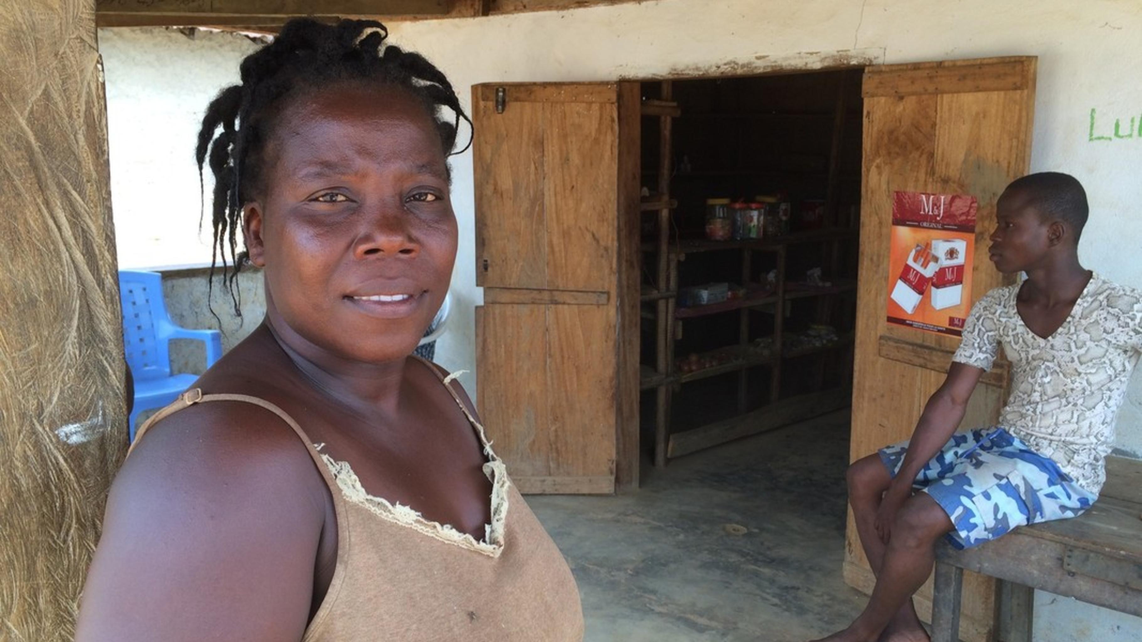 Jacqueline Koleh, Direktorin der Sehkpor Bartuah Grundschule in Liberia