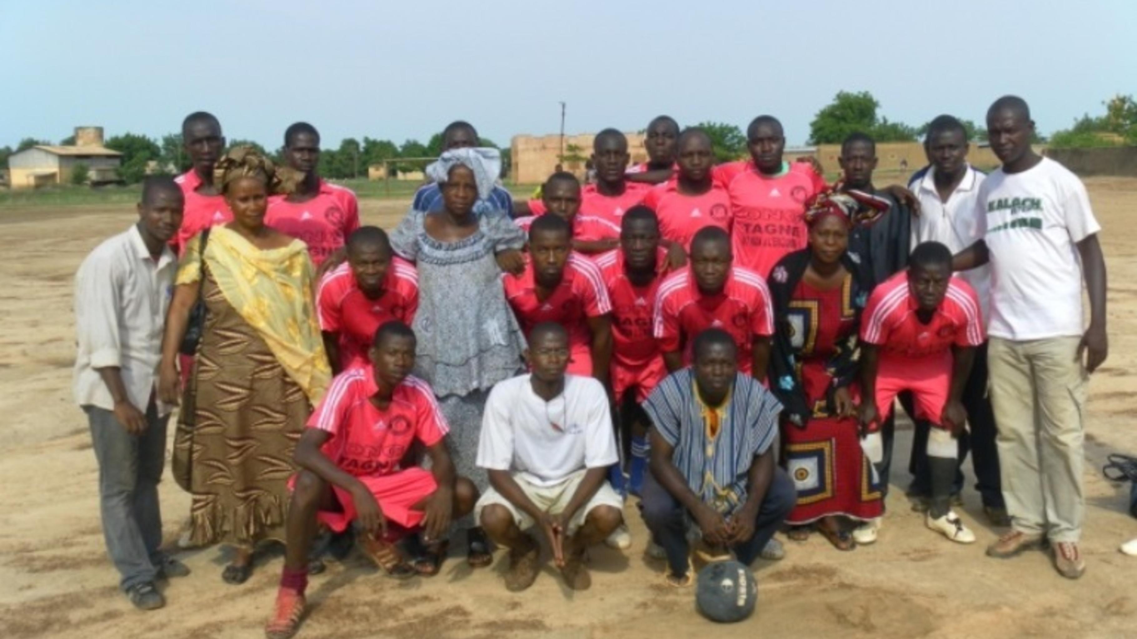 Foto: Die Siegermannschaft des diesjähriges Fussballtourniers