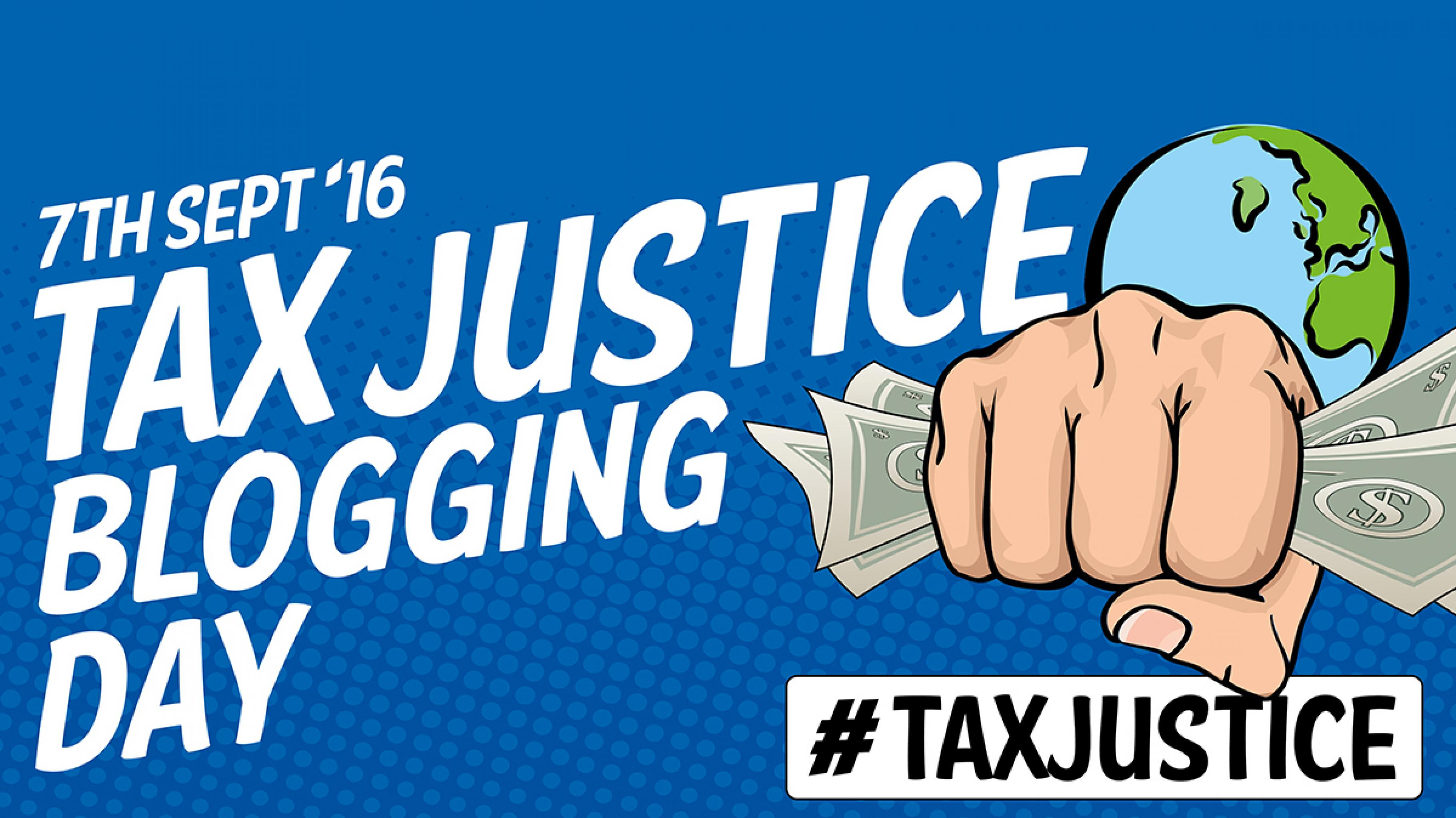 Tax Justice Blogging Day