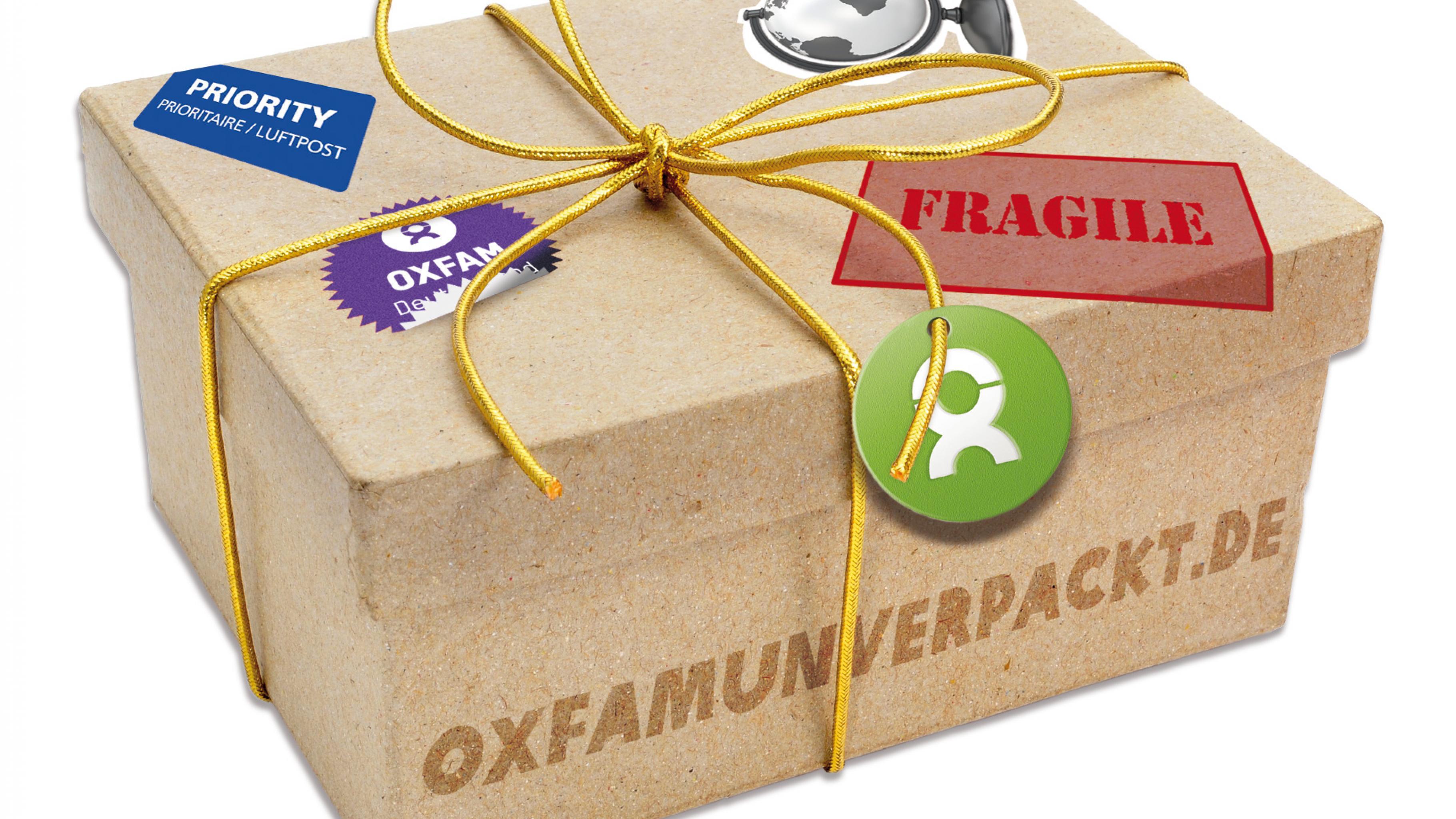 Oxfam Unverpackt: Überraschungspaket