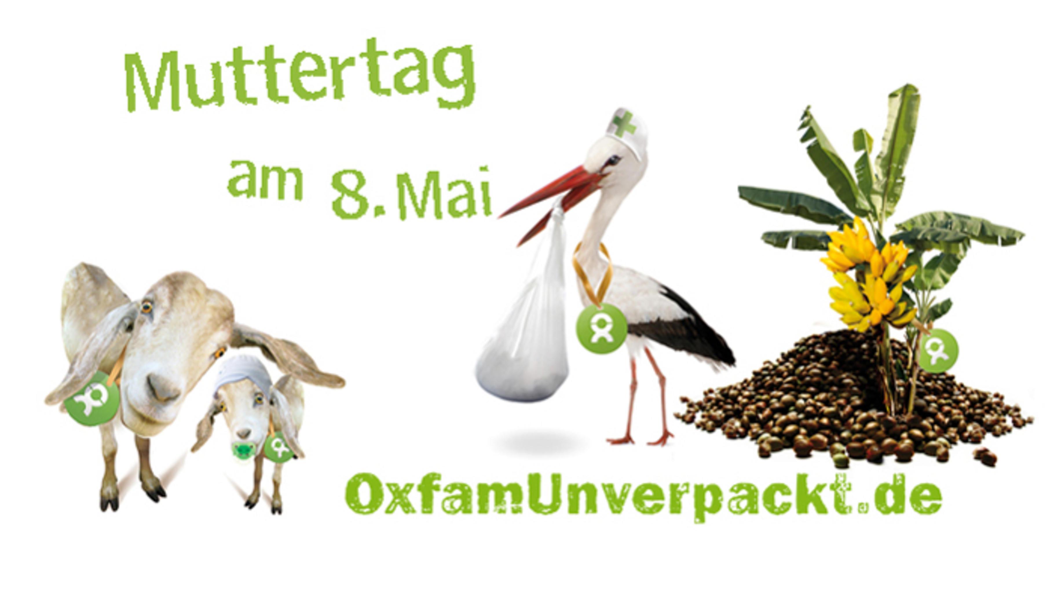 Foto: Muttertags-Geschenke bei OxfamUnverpackt