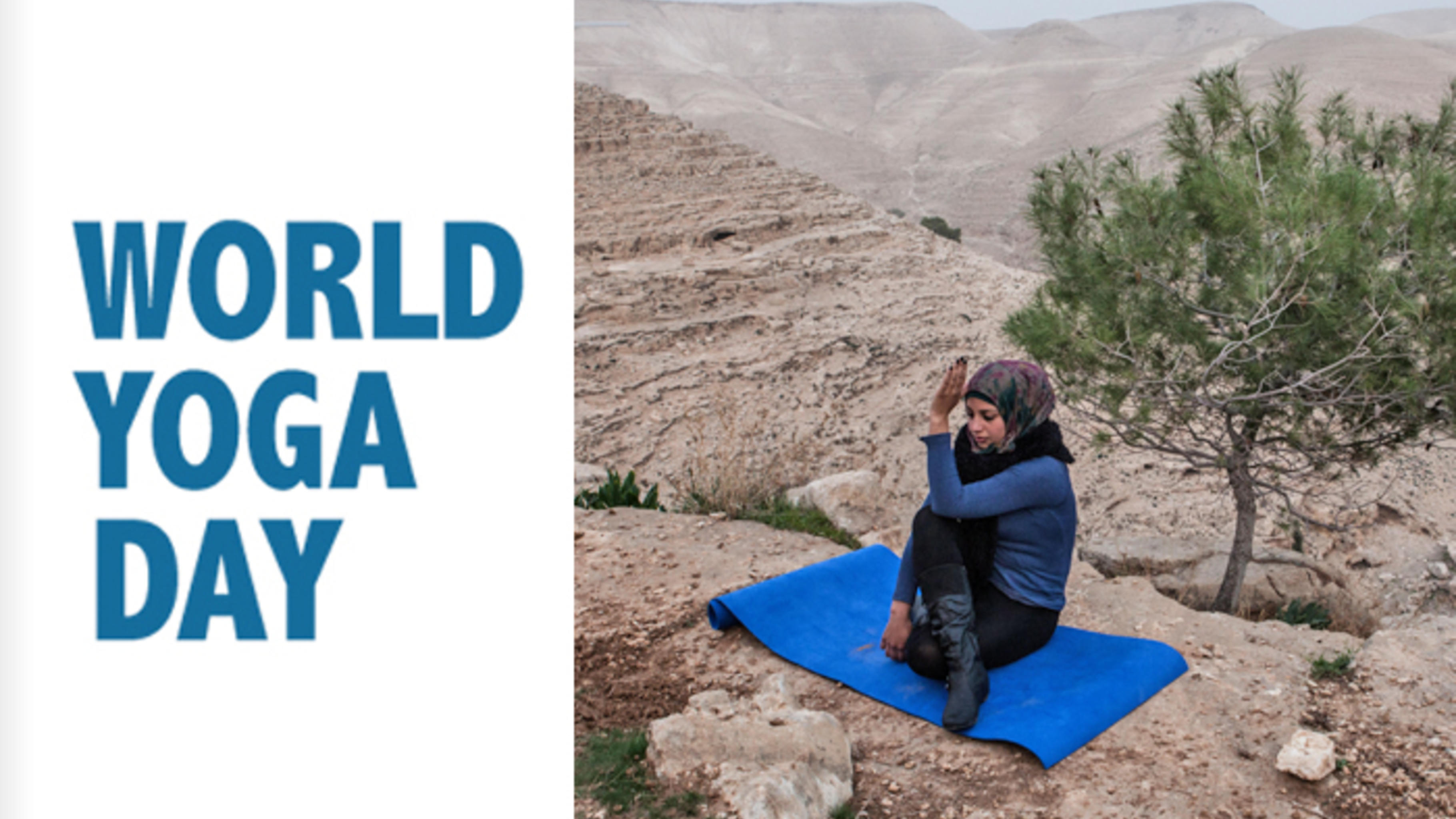 Yoga in Zatara, Westjordanland