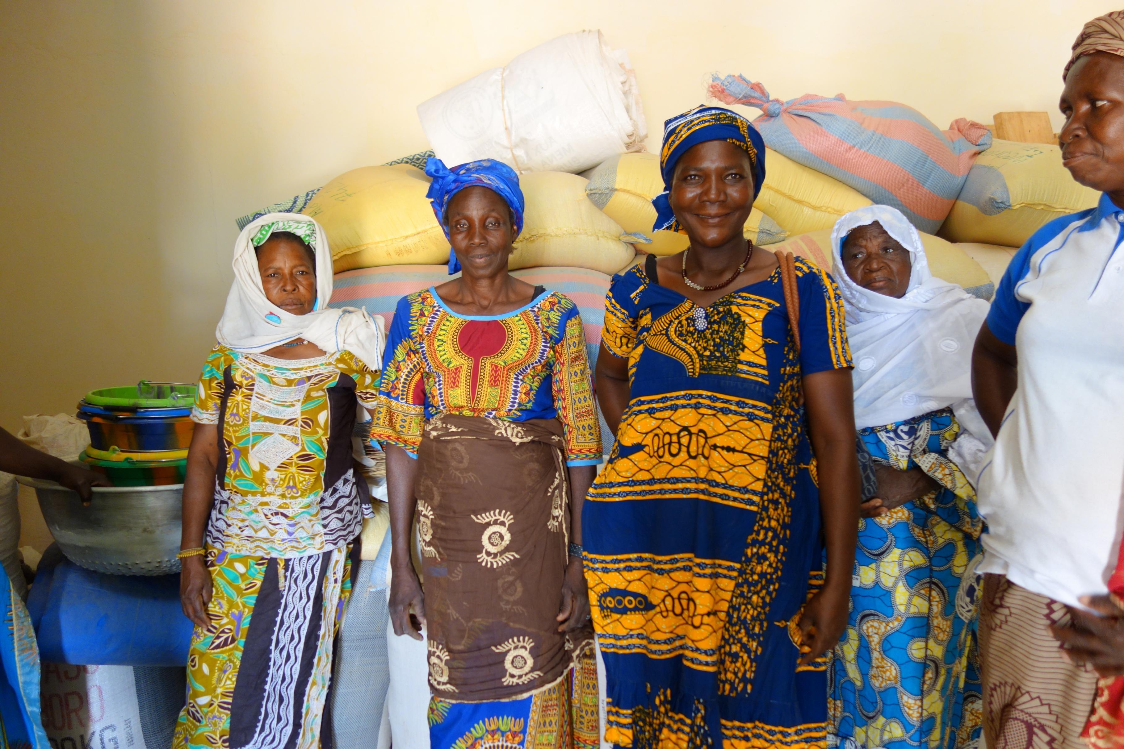 Mitglieder von Kooperativen in Burkina Faso
