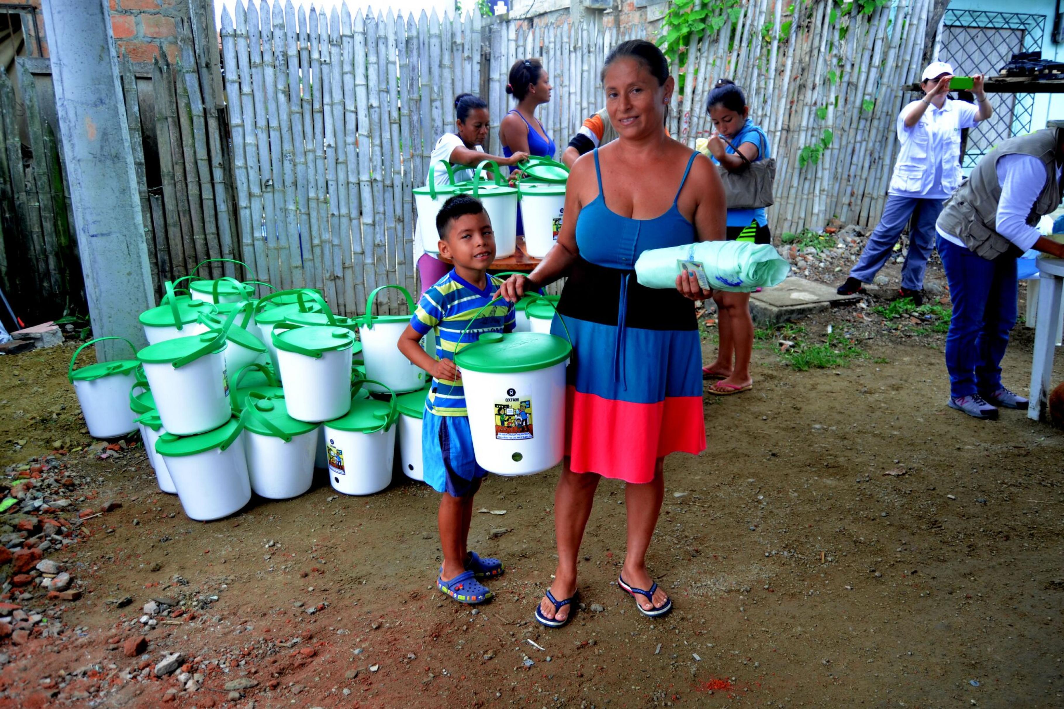 Arely Rodriguez setzt sich für Hygieneaufklärung ein.